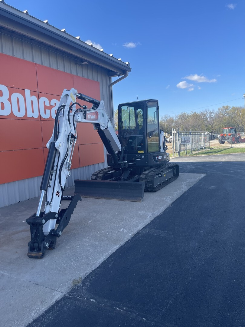 New, 2021, Bobcat, E50 R2, Excavators