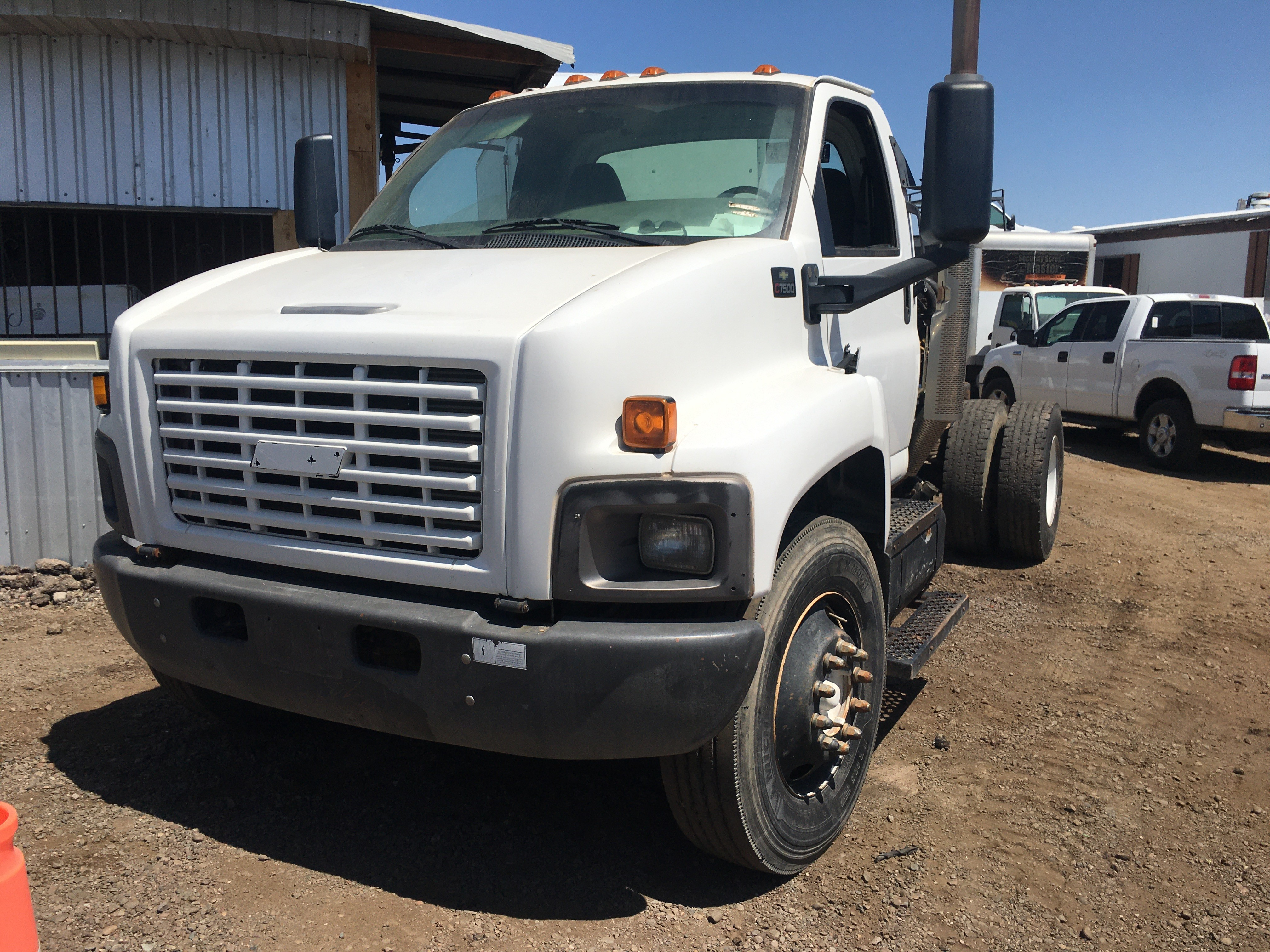 Used, 2008, Chevrolet, C7500, Cab / Chassis Trucks