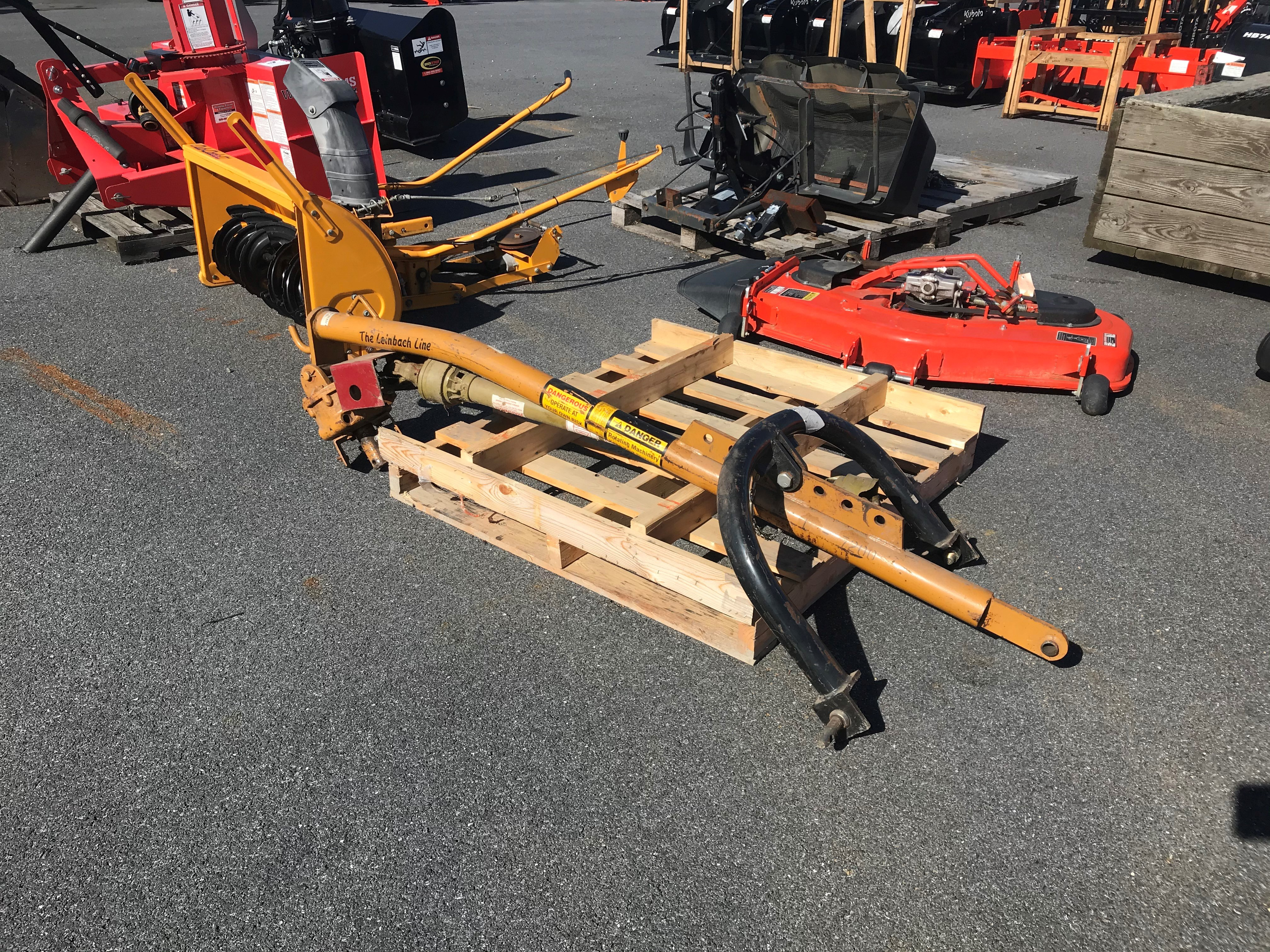 Used, 0, Leinbach, L7200, Augers / Post Hole Diggers