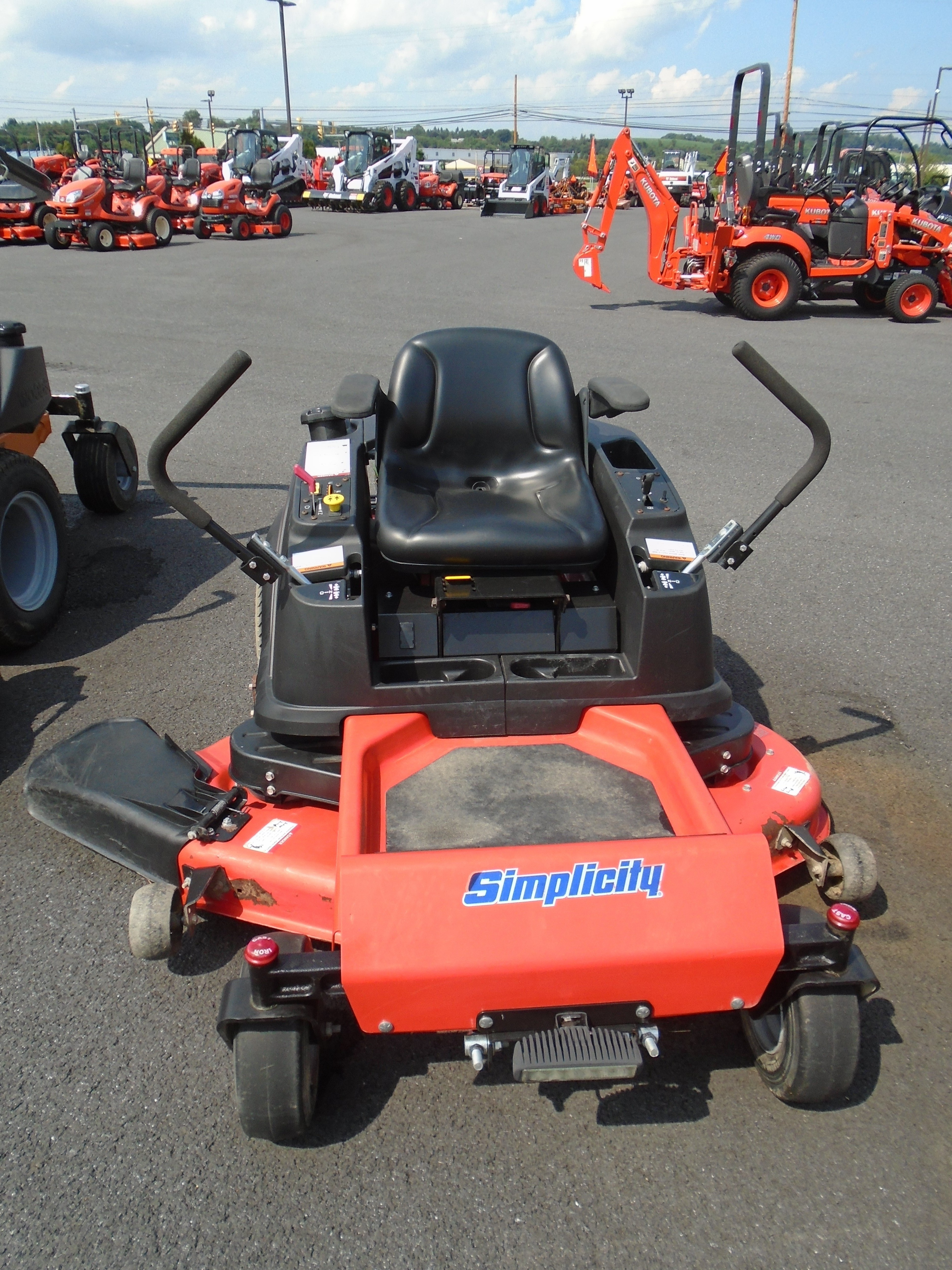 Used, 2014, Simplicity, 21.5/46 ZT1500, Lawn Mowers