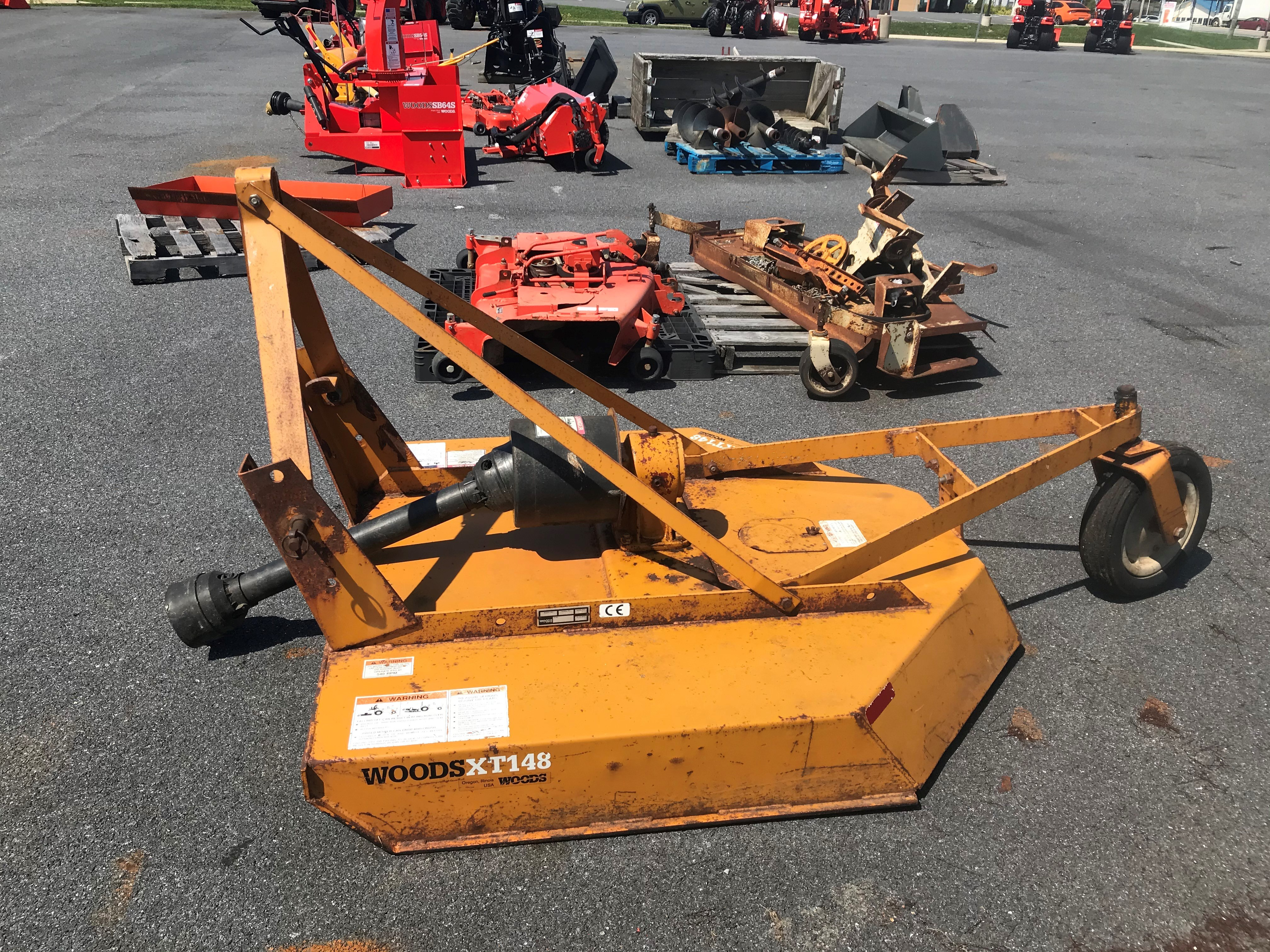 Used, 0, Woods, XT148, Cutter Implements