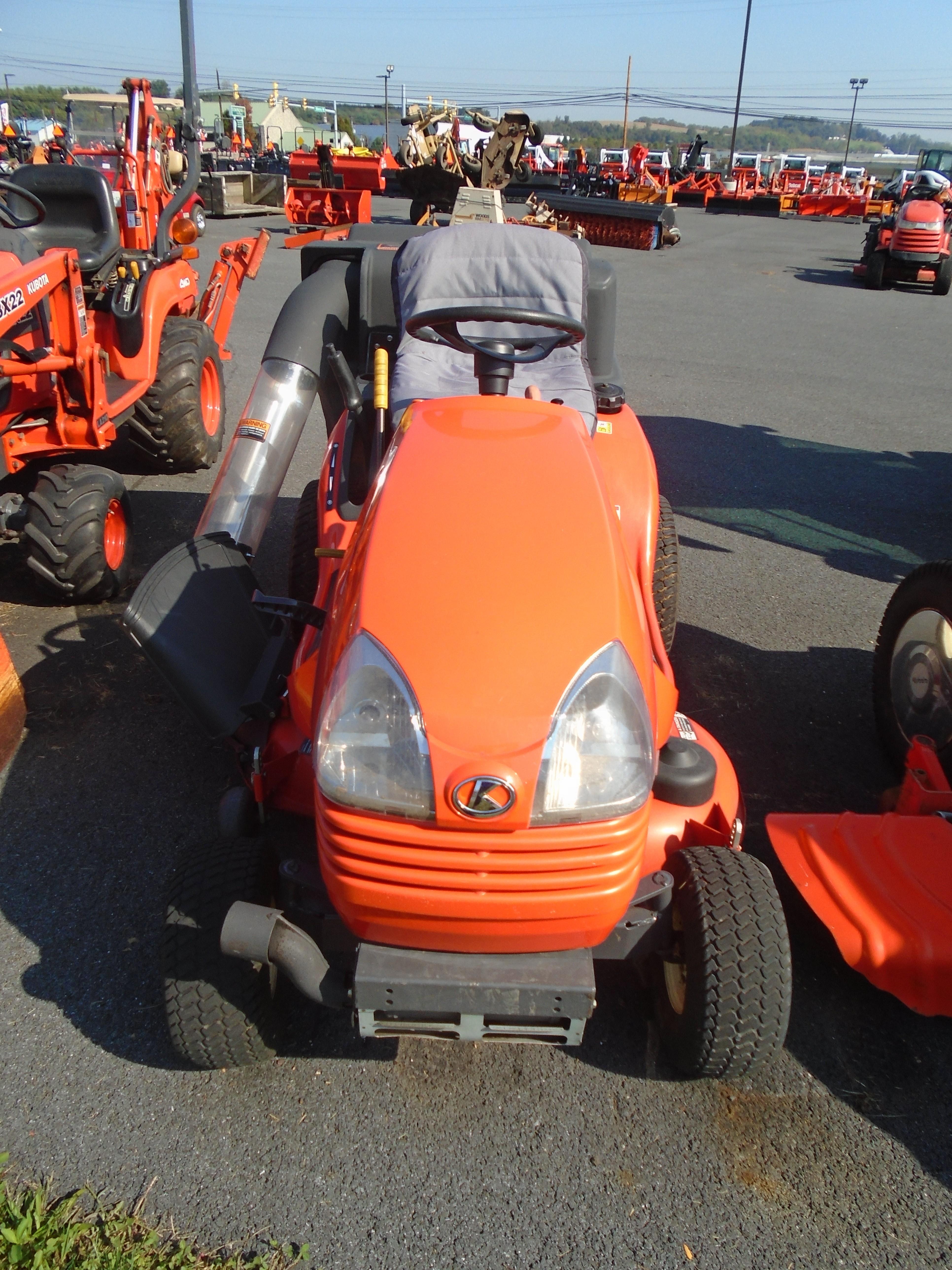 Used, 2008, Kubota, T2080, Lawn Mowers