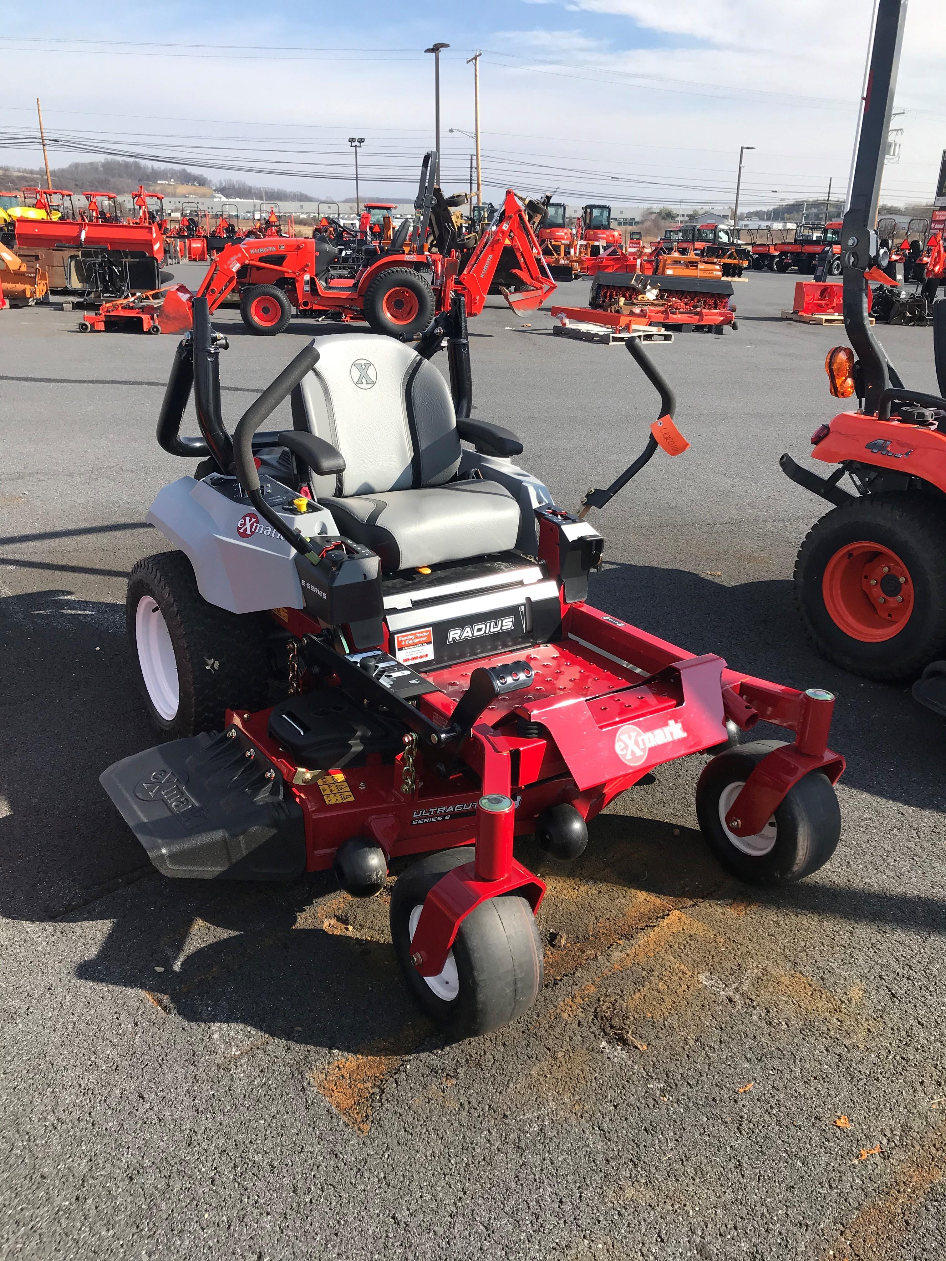 Used, 2018, Exmark, RAE708GEM48300, Lawn Mowers