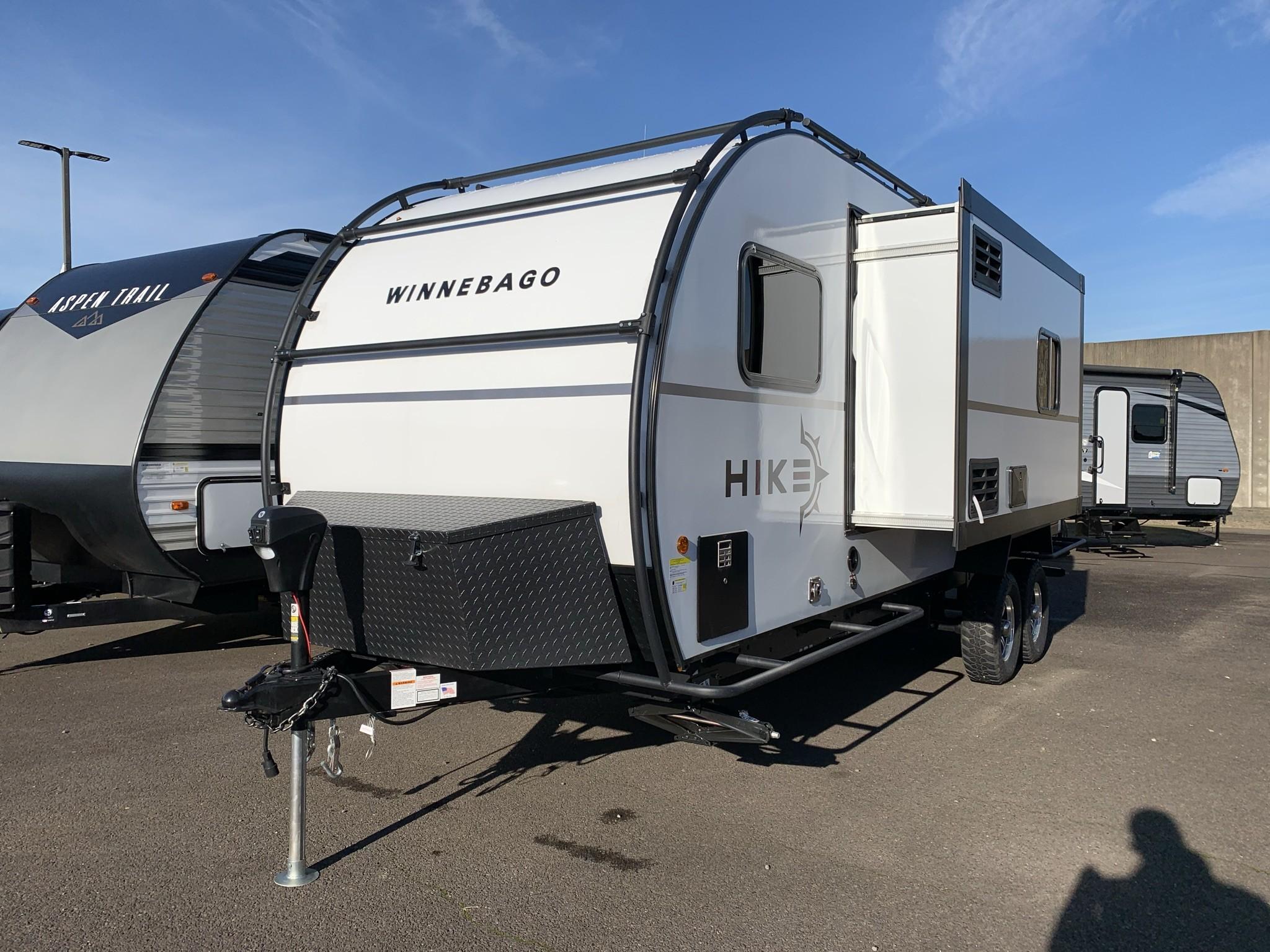 New, 2021, Winnebago, HIKE H215HS, Travel Trailers