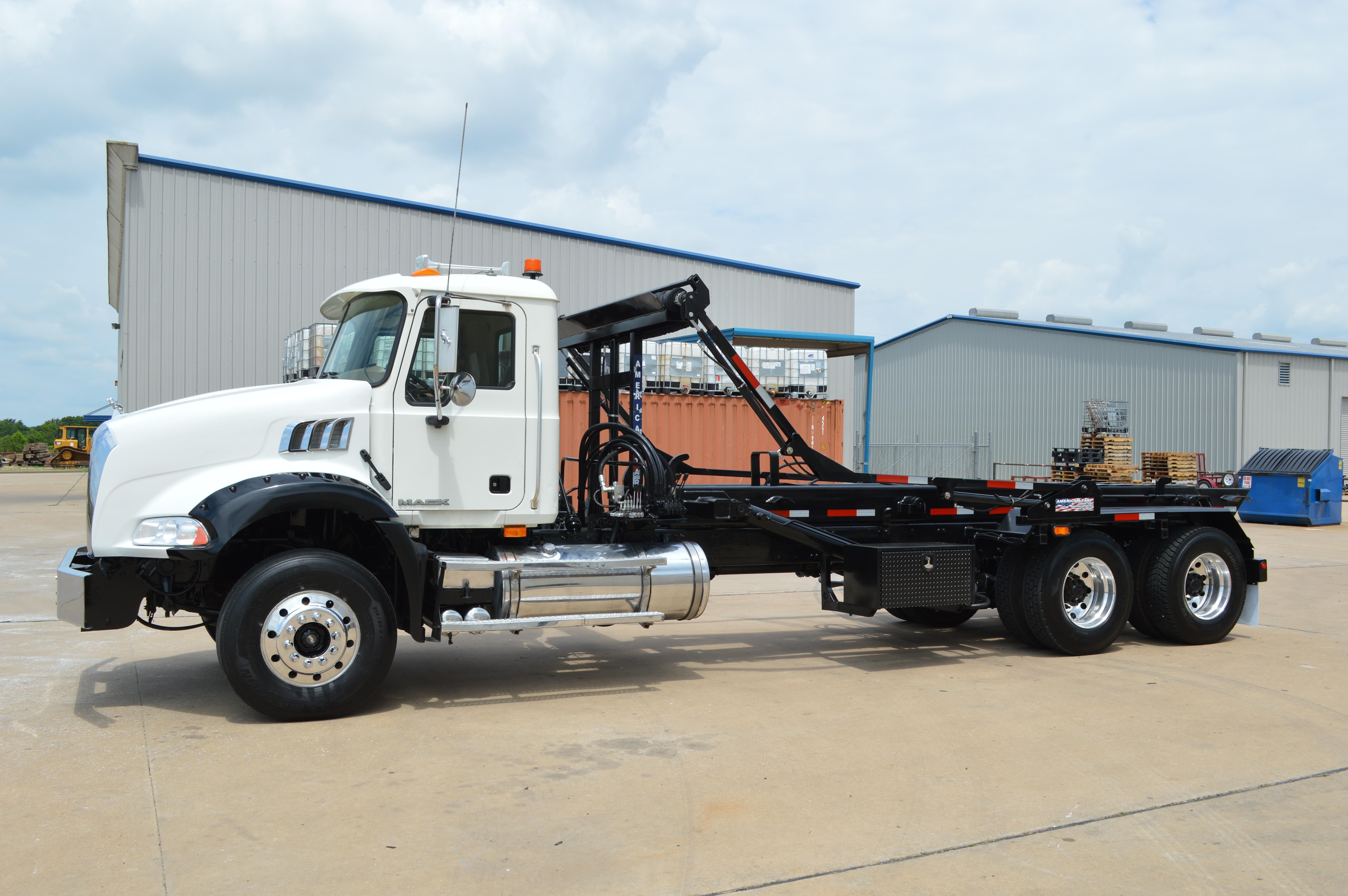 Used, 2010, Mack, GU813 Roll Off Truck, Transfer Trucks