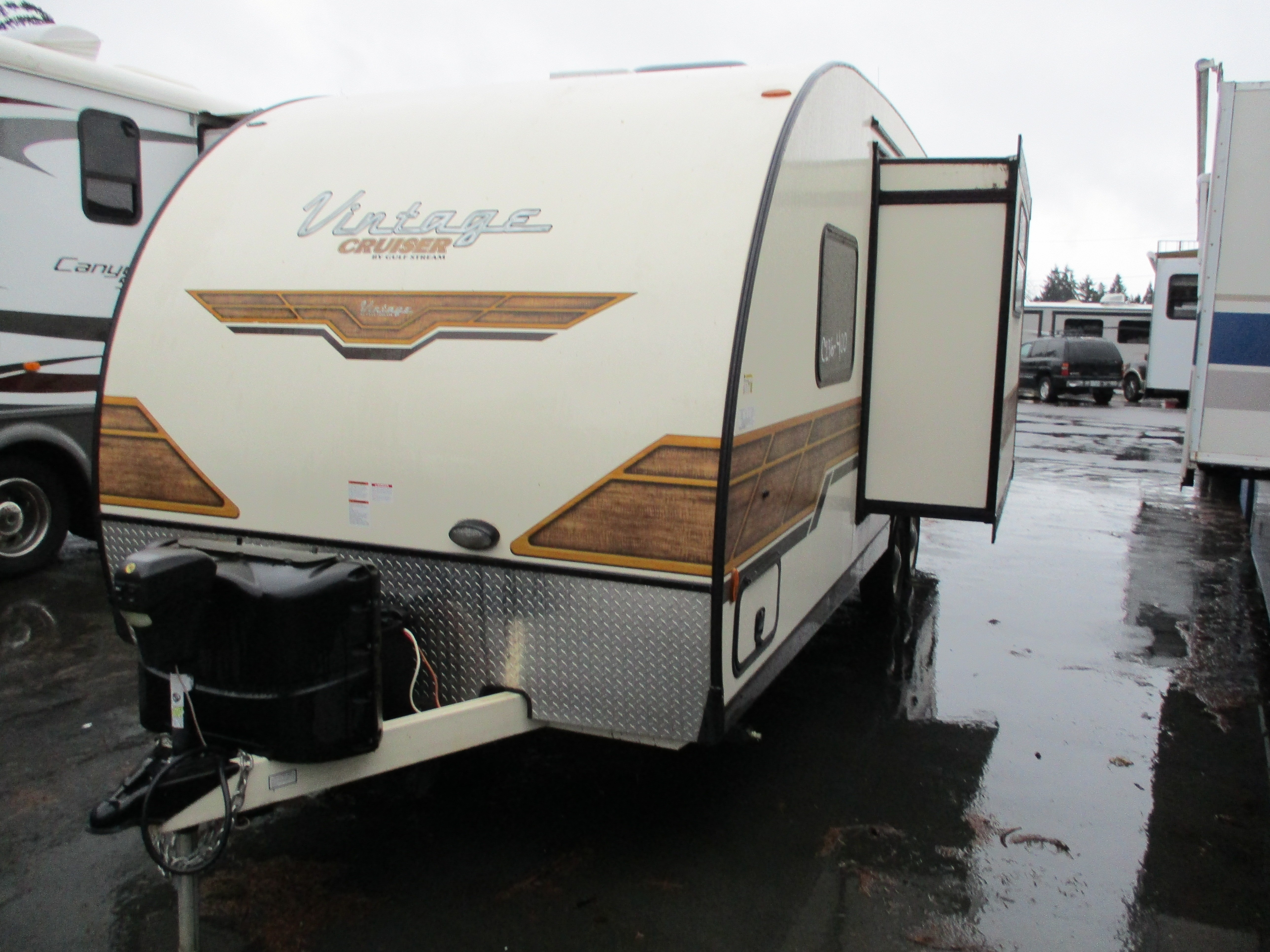 Used, 2018, Gulf Stream, VINTAGE CRUISER 23BHS, Travel Trailers