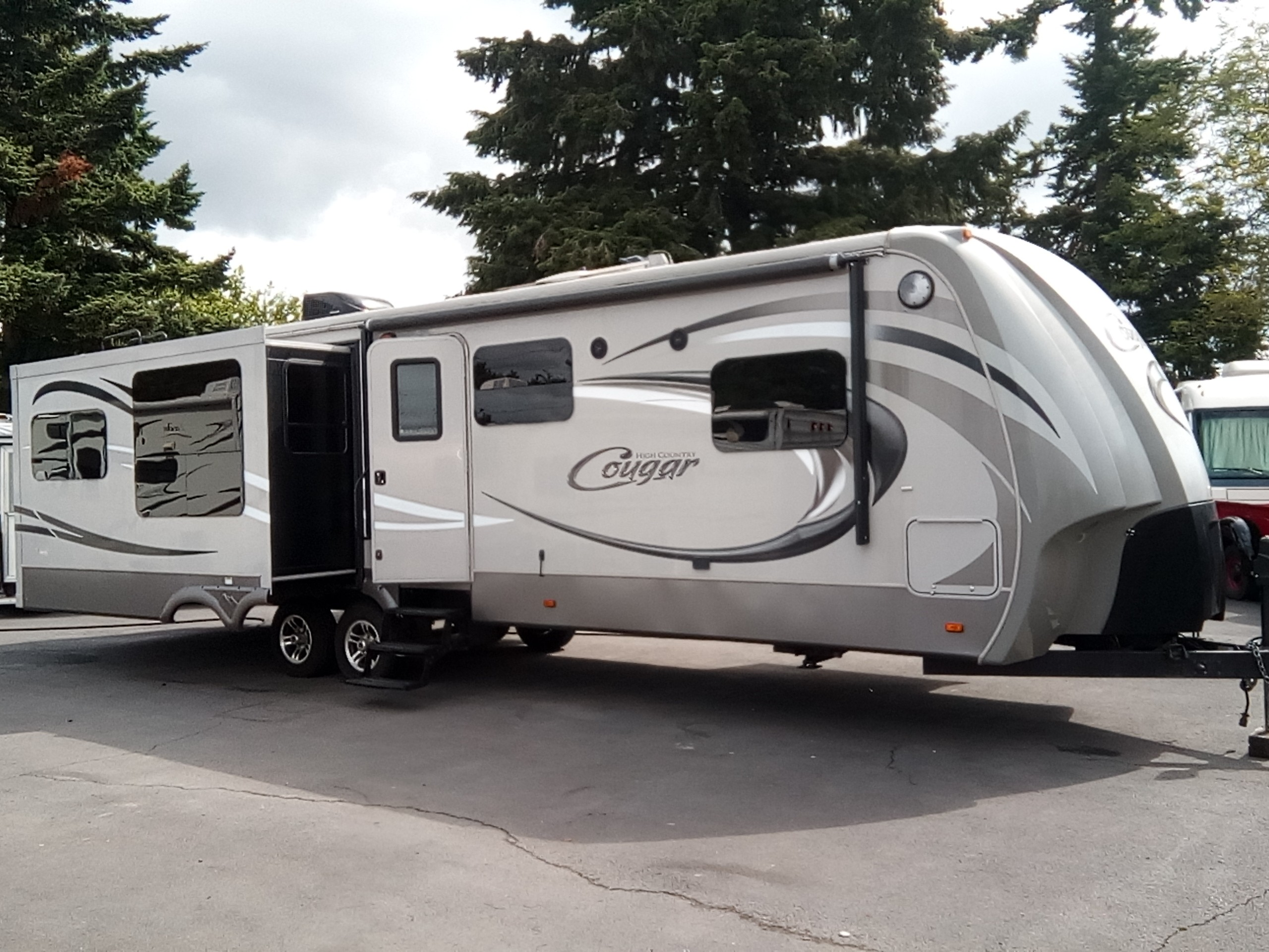 Used, 2014, Keystone, Cougar High Country 321RES, Travel Trailers