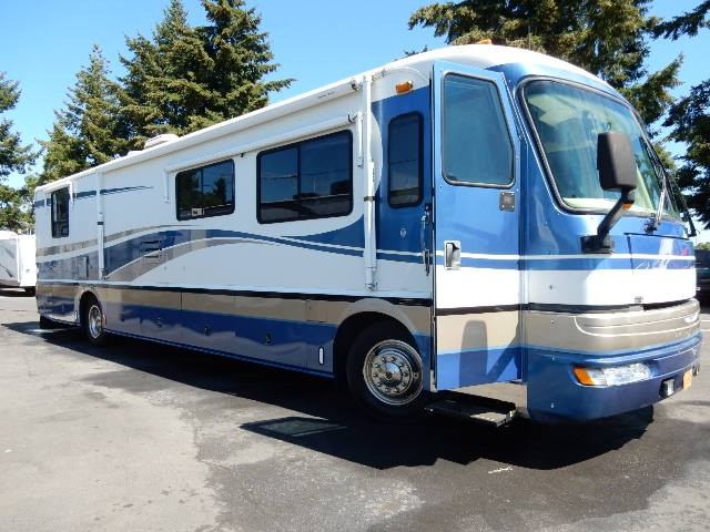 Used, 1999, Fleetwood, American Tradition 40VS, RV - Class A