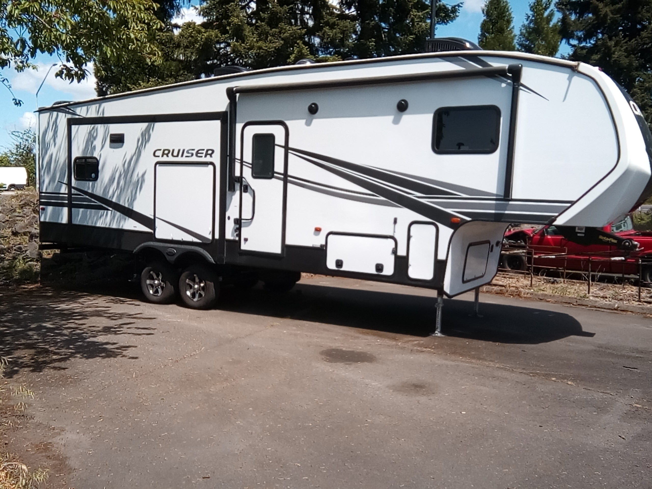 Used, 2021, CrossRoads, Cruiser Aire CR28RD, Fifth Wheels