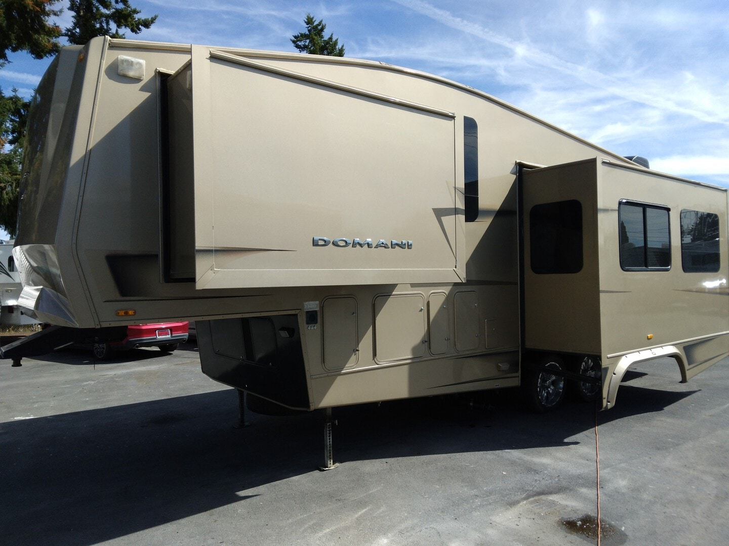 Used, 2008, Carriage, DOMANI, Fifth Wheels