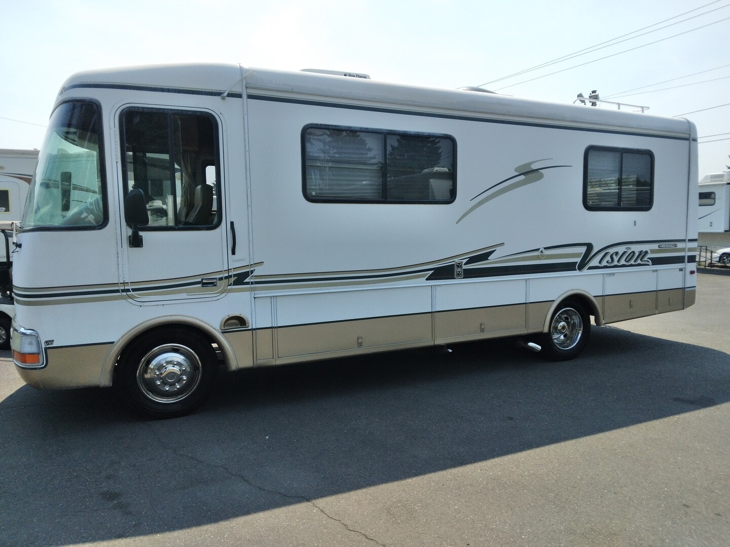 Used, 2001, Rexhall, VW0915, RV - Class A