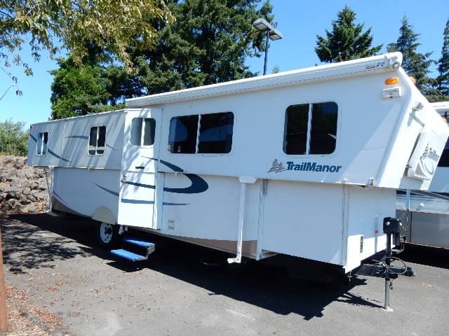 Used, 2007, TrailManor, Trail Manor 3124KS, Travel Trailers