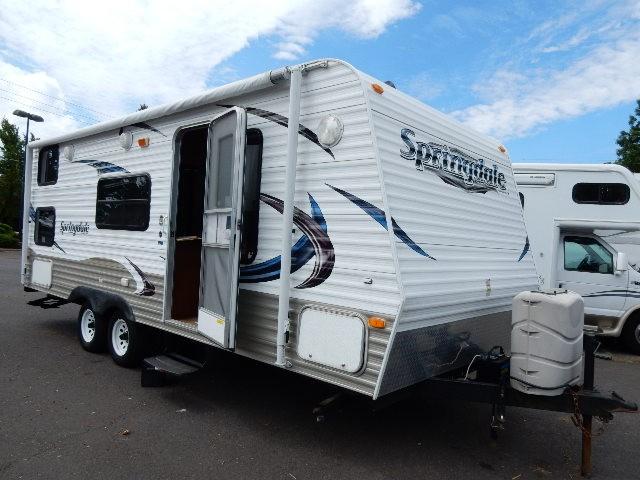 Used, 2012, Keystone, Springdale 210BHLWE, Travel Trailers