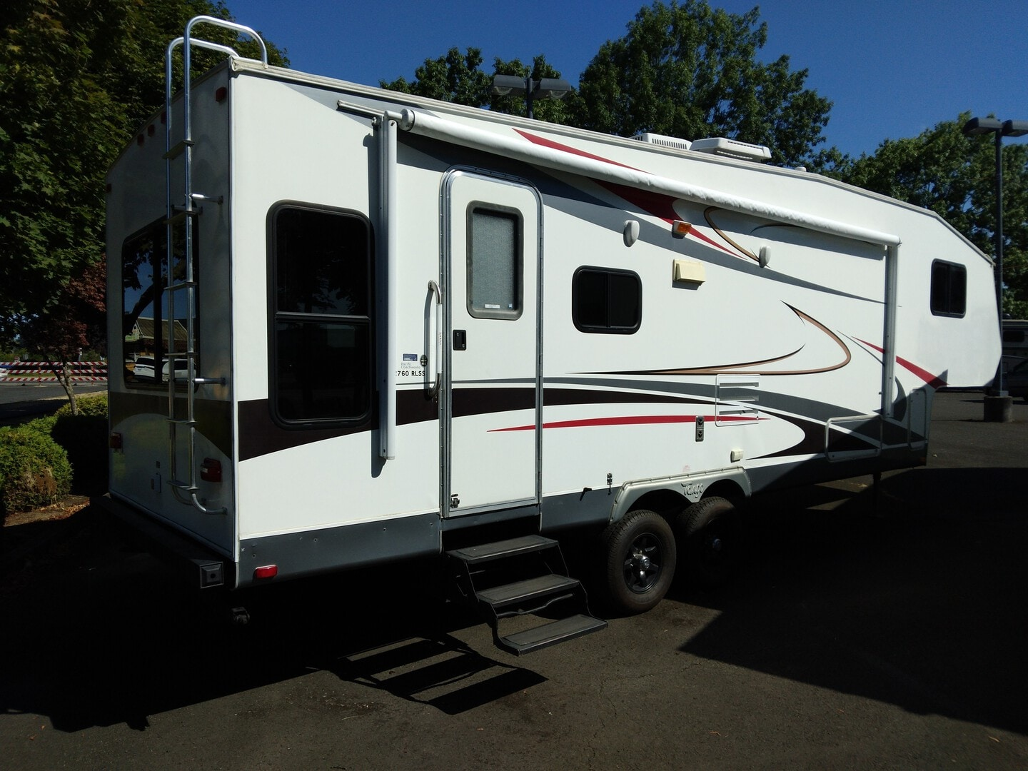 Used, 2008, Pacific Coachworks, TANGO, Fifth Wheels