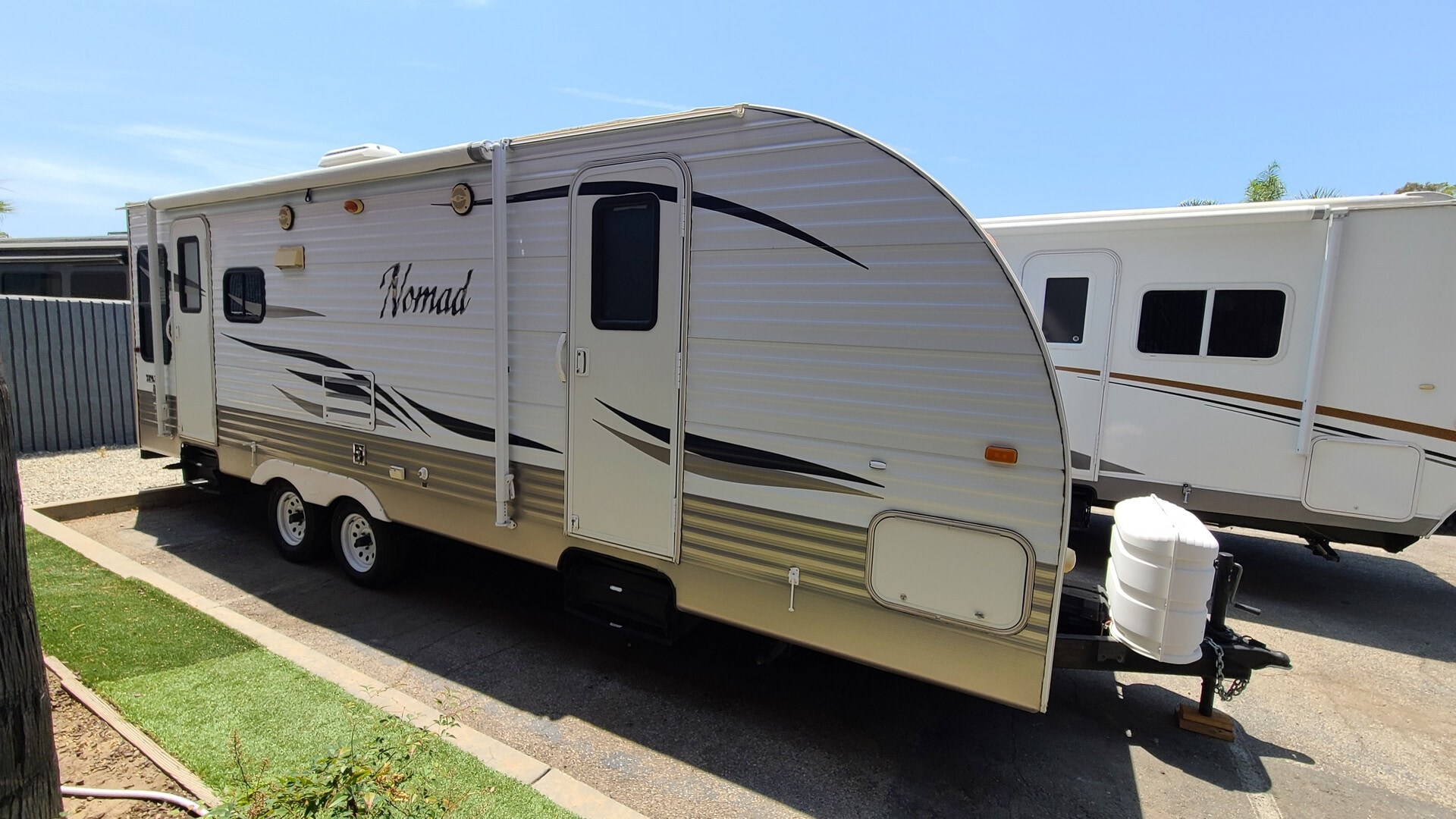 Used, 2011, Nomad by Skyline, 265, Travel Trailers