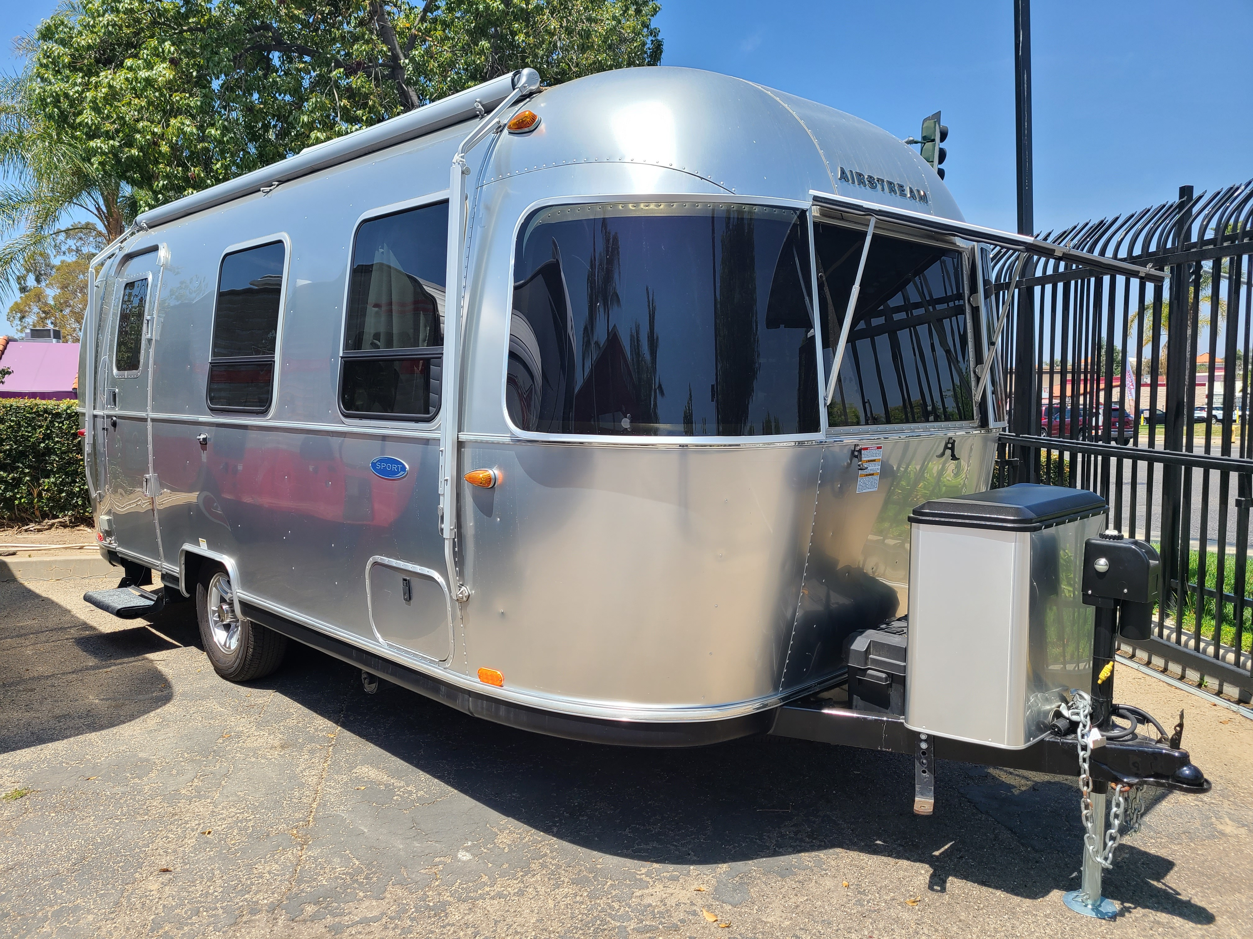 Used, 2018, Airstream, 22FB, Travel Trailers