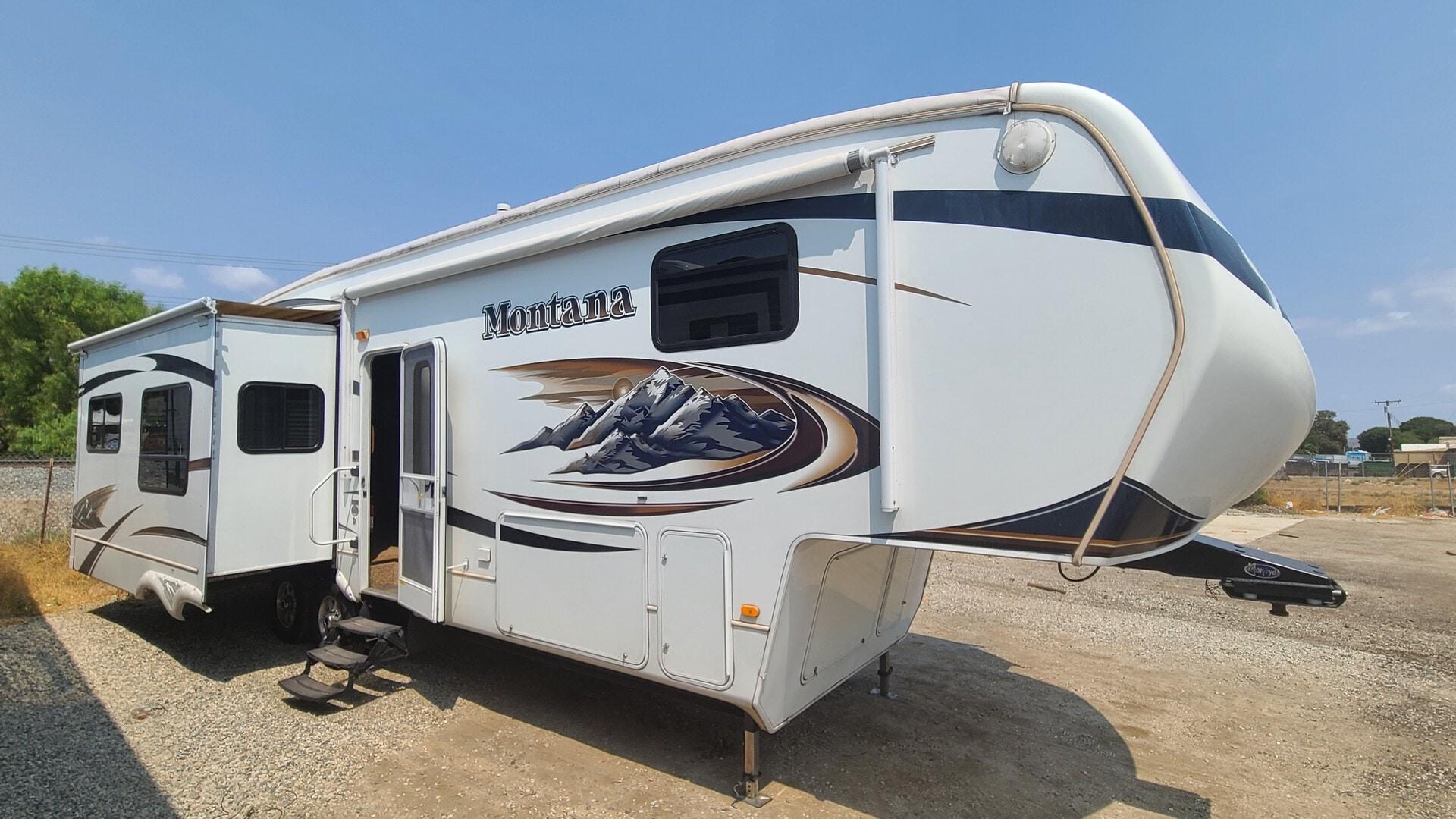 Used, 2010, Montana, 3665RE, Fifth Wheels