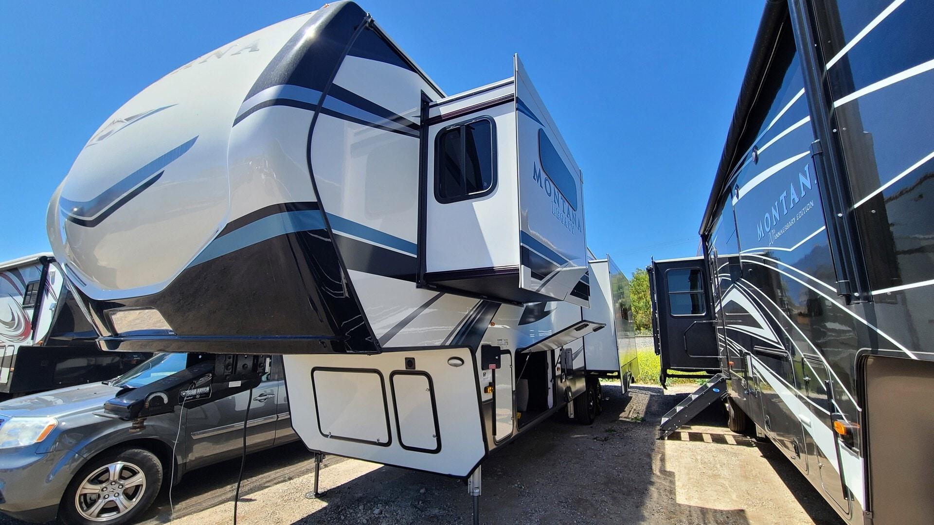 Used, 2021, Montana, 3231CK, Fifth Wheels