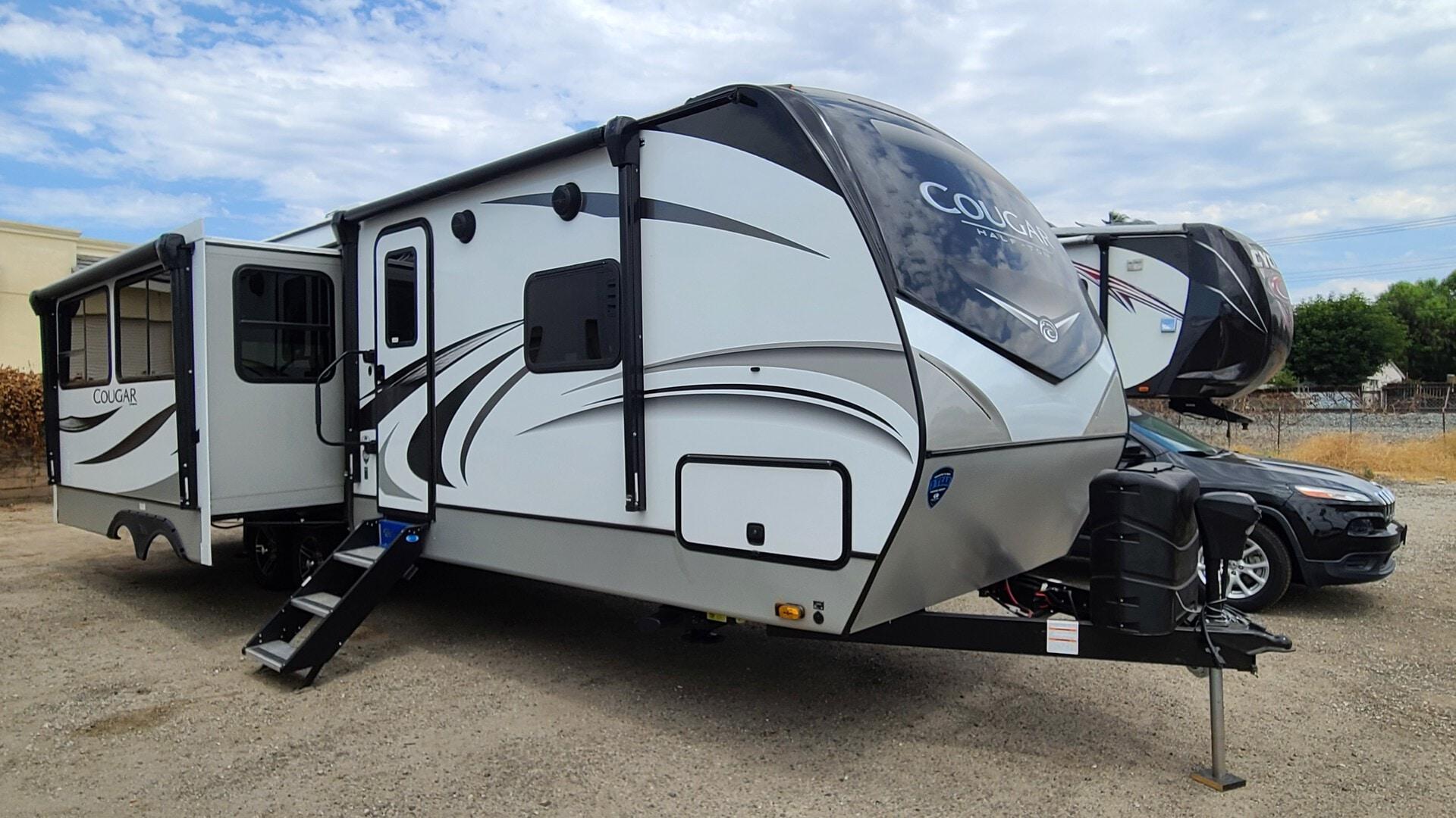 New, 2021, Cougar RV, 29RLS, Travel Trailers