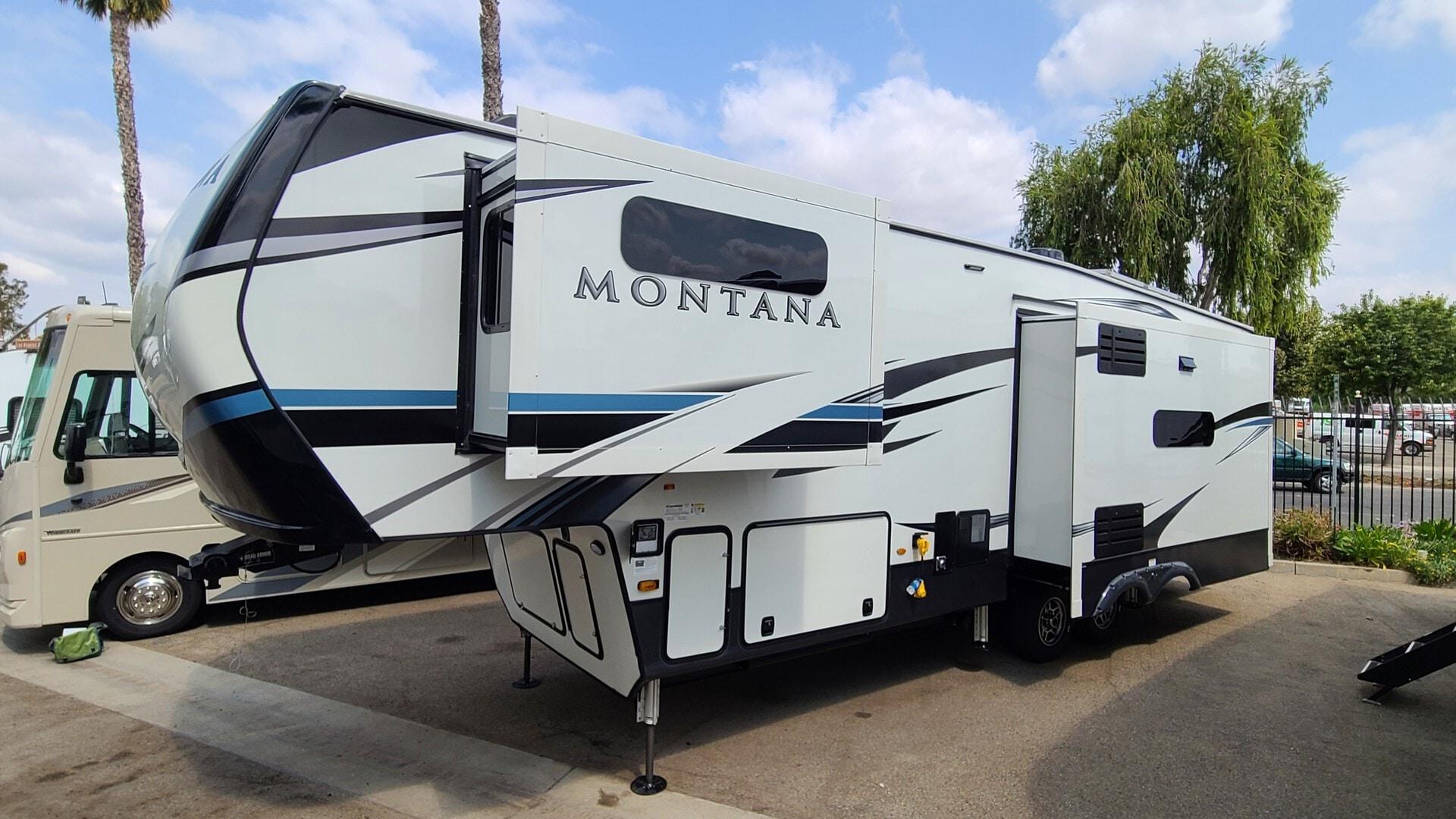 New, 2021, Montana, 3120RL, Fifth Wheels