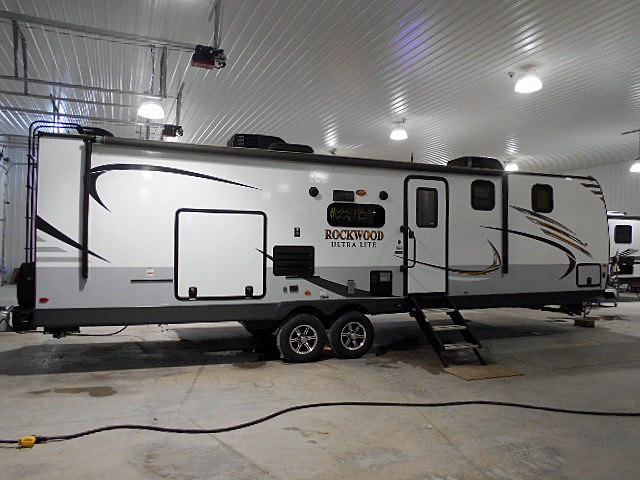 Used, 2019, Forest River, Rockwood UltraLite 2912BS, Travel Trailers