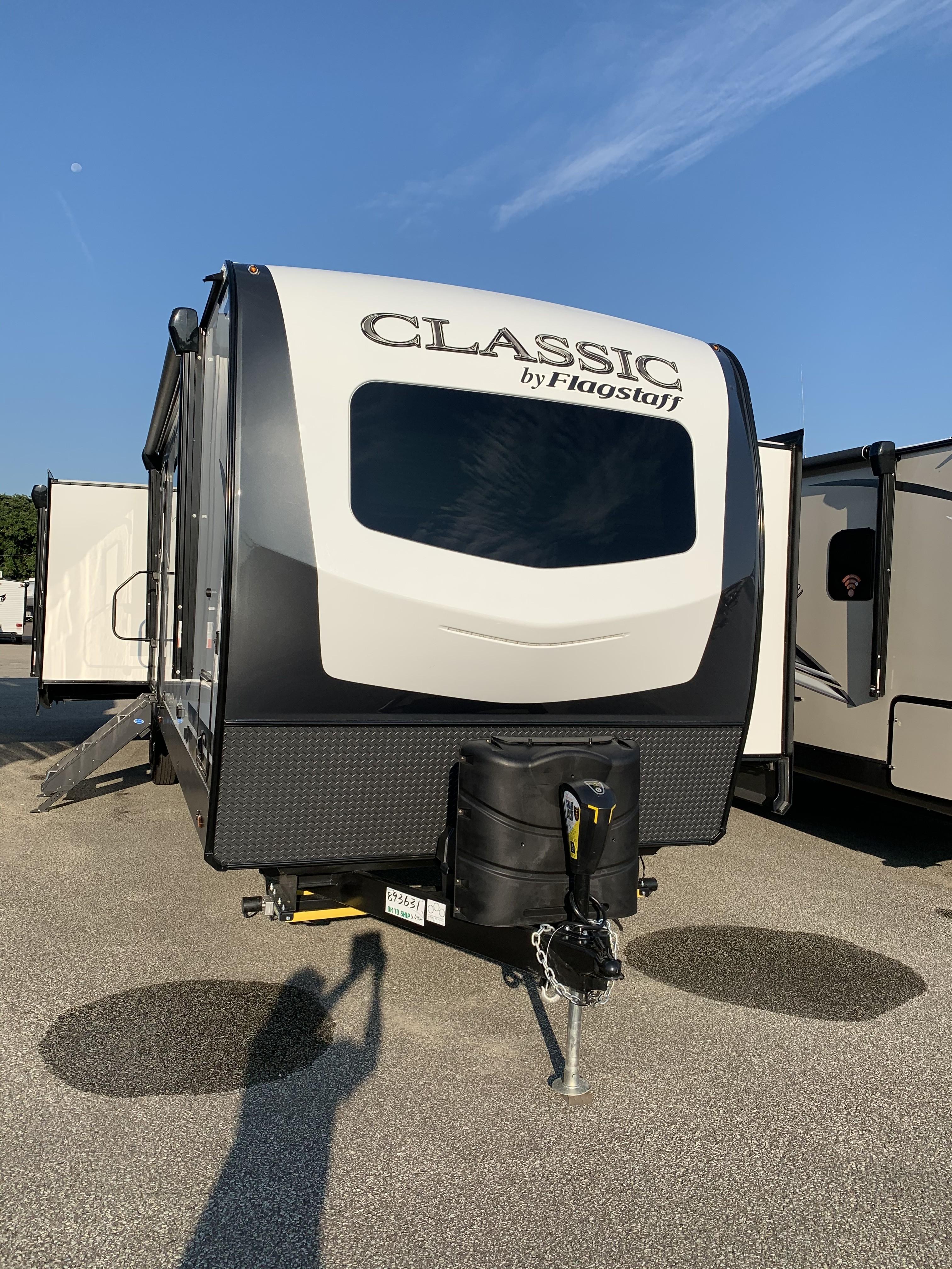New, 2021, Flagstaff Classic, 832IKSB, Travel Trailers