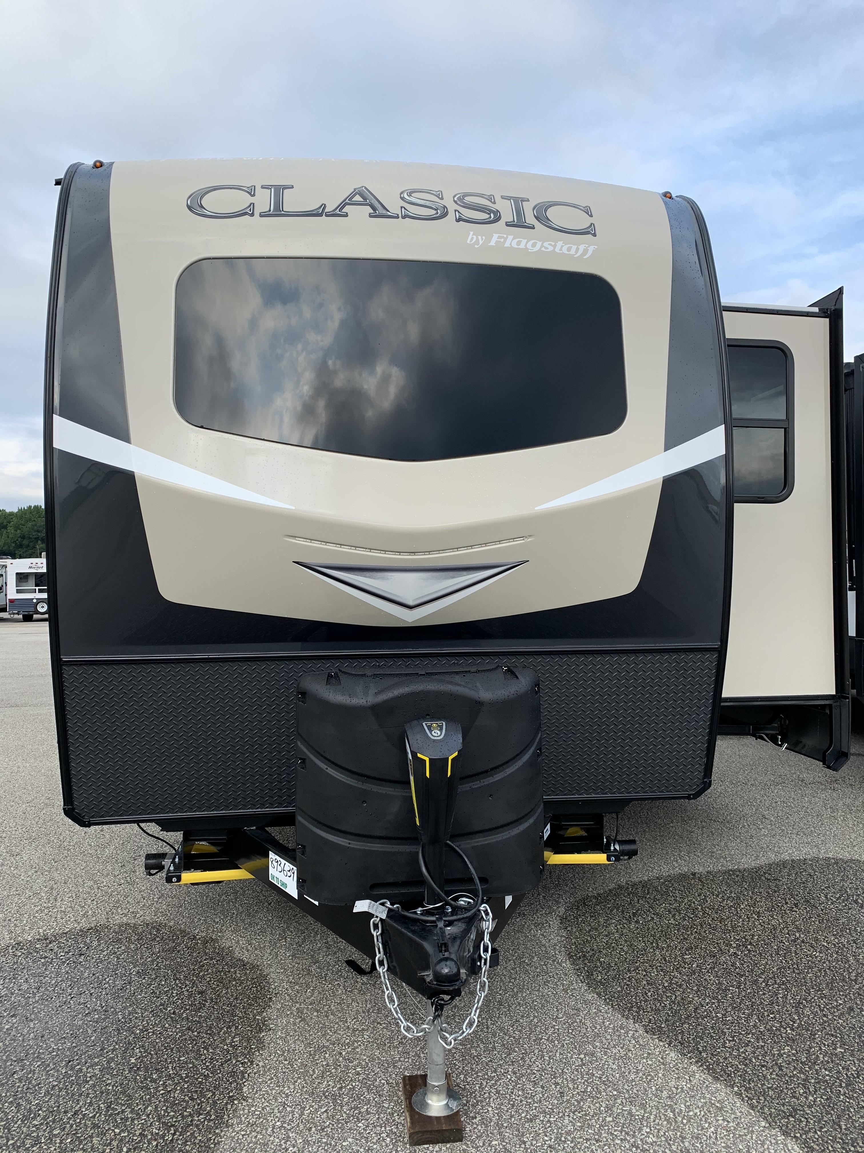 New, 2021, Flagstaff Classic, 832CLSB, Travel Trailers