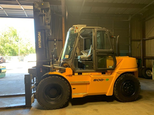 New, 2021, Hyundai, 80D-9, Forklifts / Lift Trucks