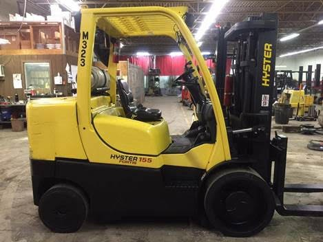 Used, 2008, Hyster, S155FT, Forklifts / Lift Trucks
