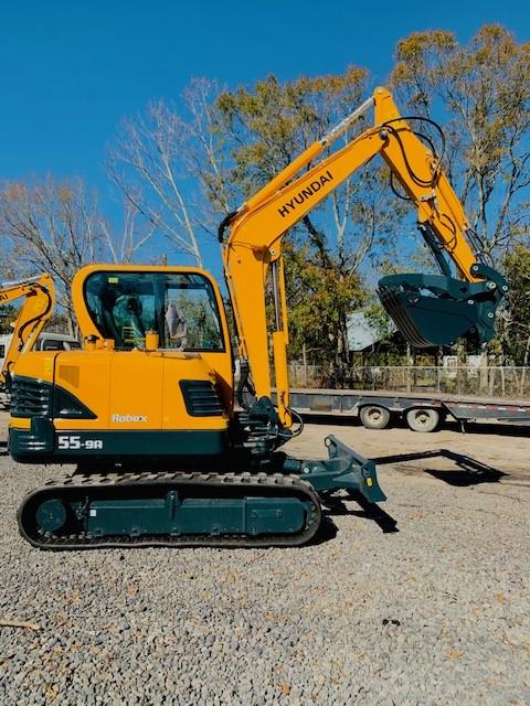 New, 2020, Hyundai, R55-9A, Excavators