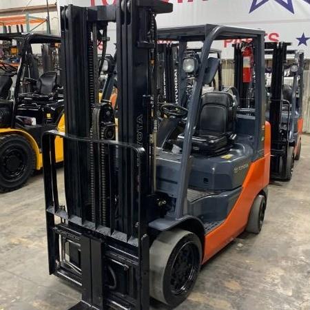 Used, 2016, Toyota, 8FGCU25, Forklifts / Lift Trucks