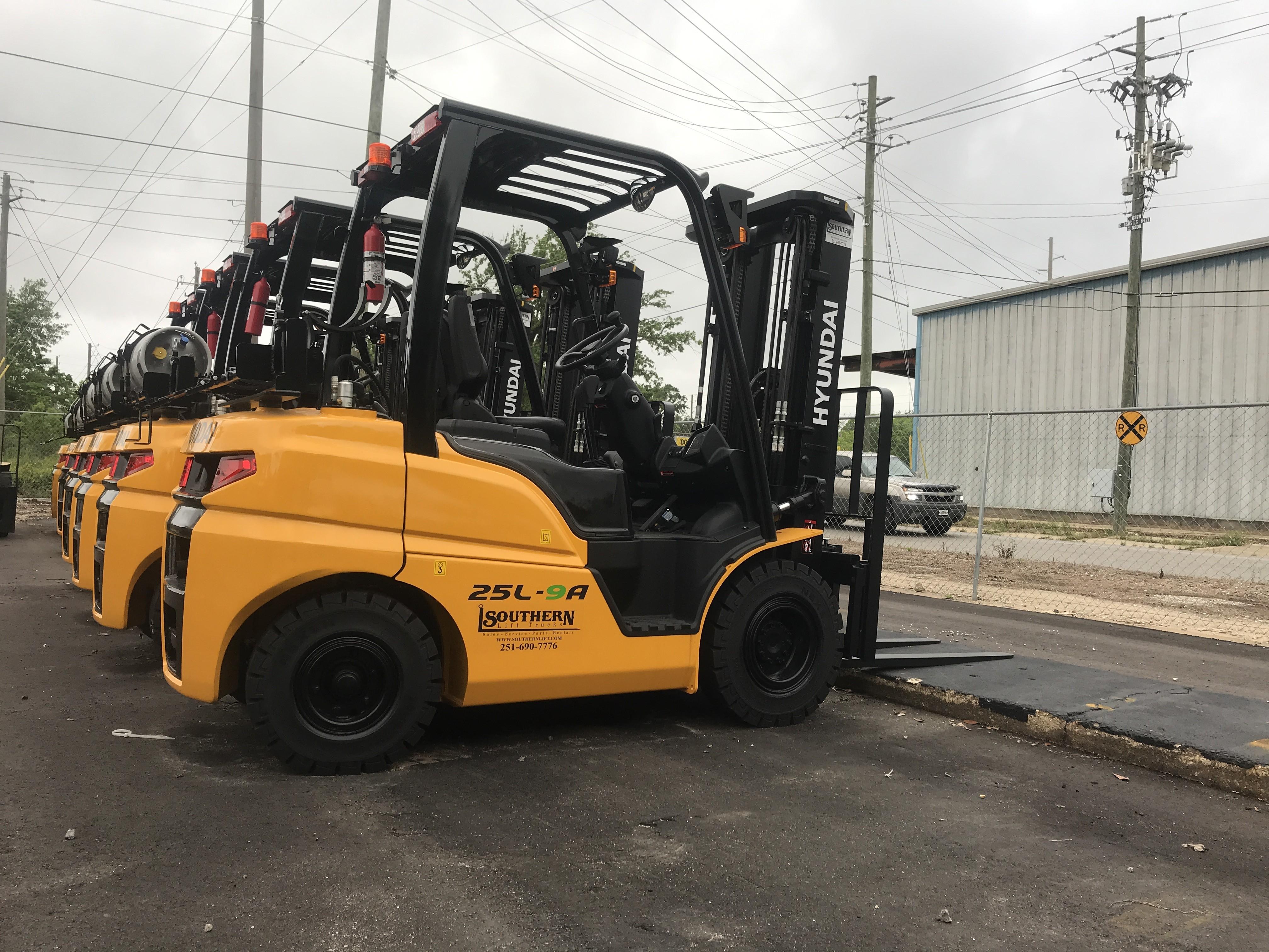 New, 2021, Hyundai, 25L-9, Forklifts / Lift Trucks