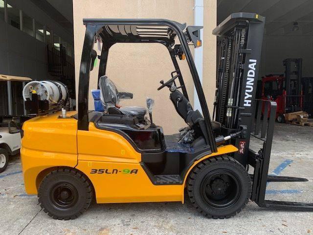 New, 2021, Hyundai, 35LN-9A, Forklifts / Lift Trucks