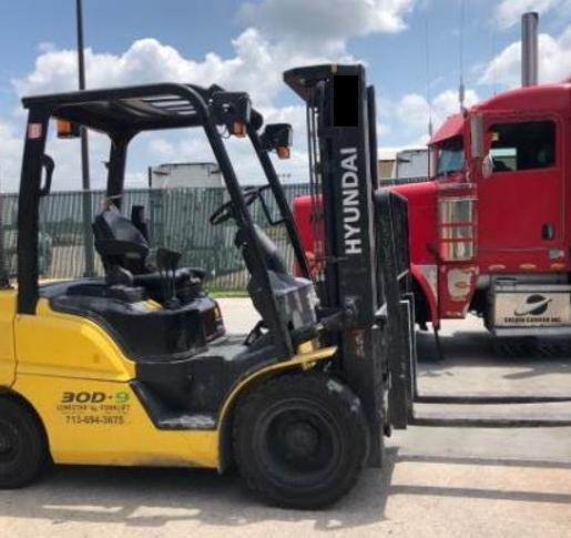 Used, 2017, Hyundai, 30D-9, Forklifts / Lift Trucks