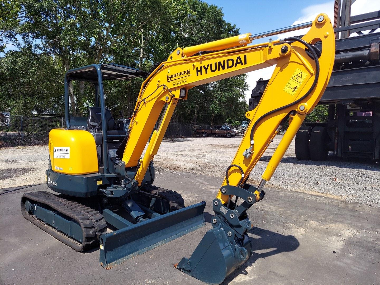 New, 2020, Hyundai, R35Z-9A, Excavators