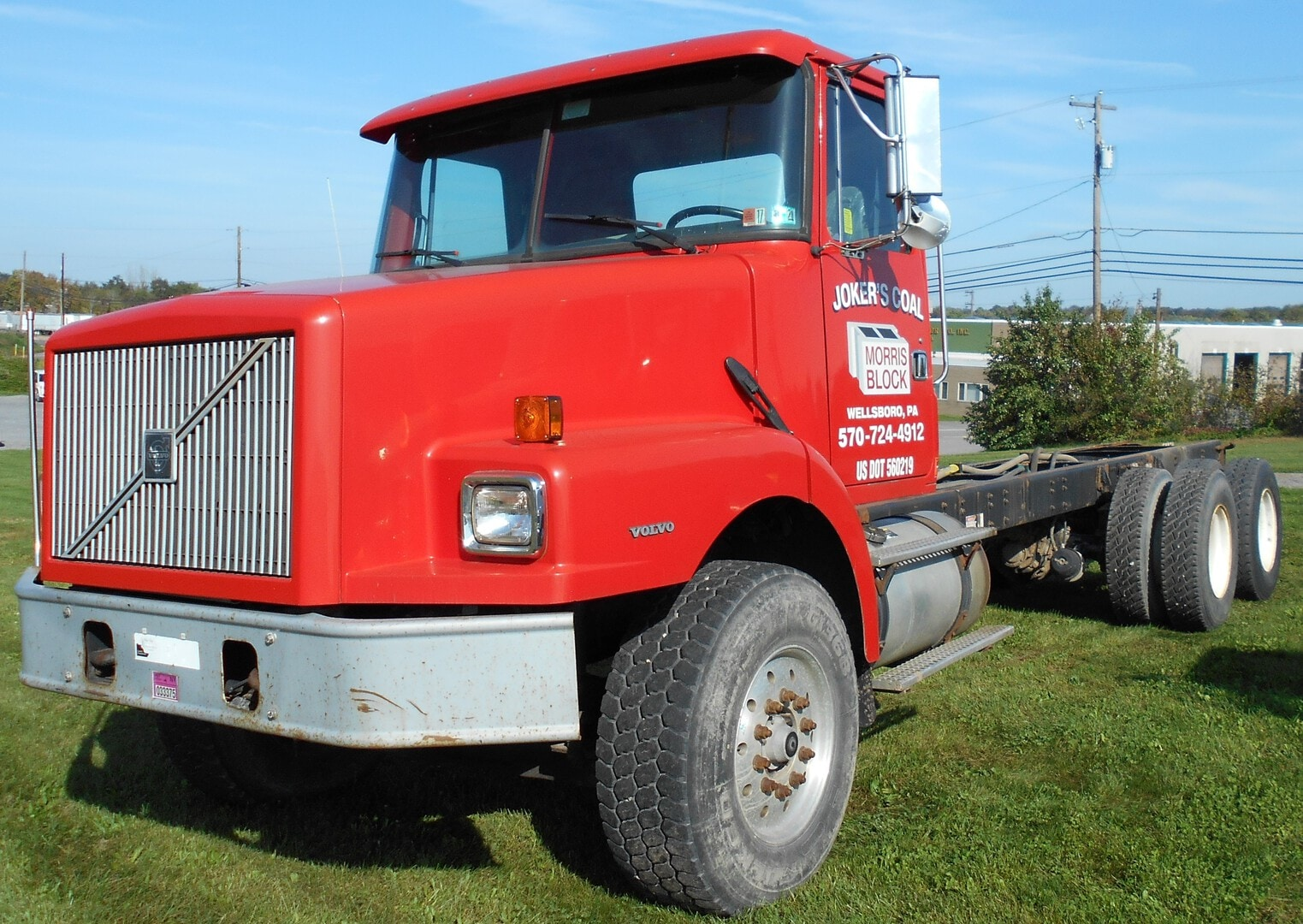 Used, 1999, Volvo, USED WG64 CAB & CHASSIS, Cab / Chassis Trucks