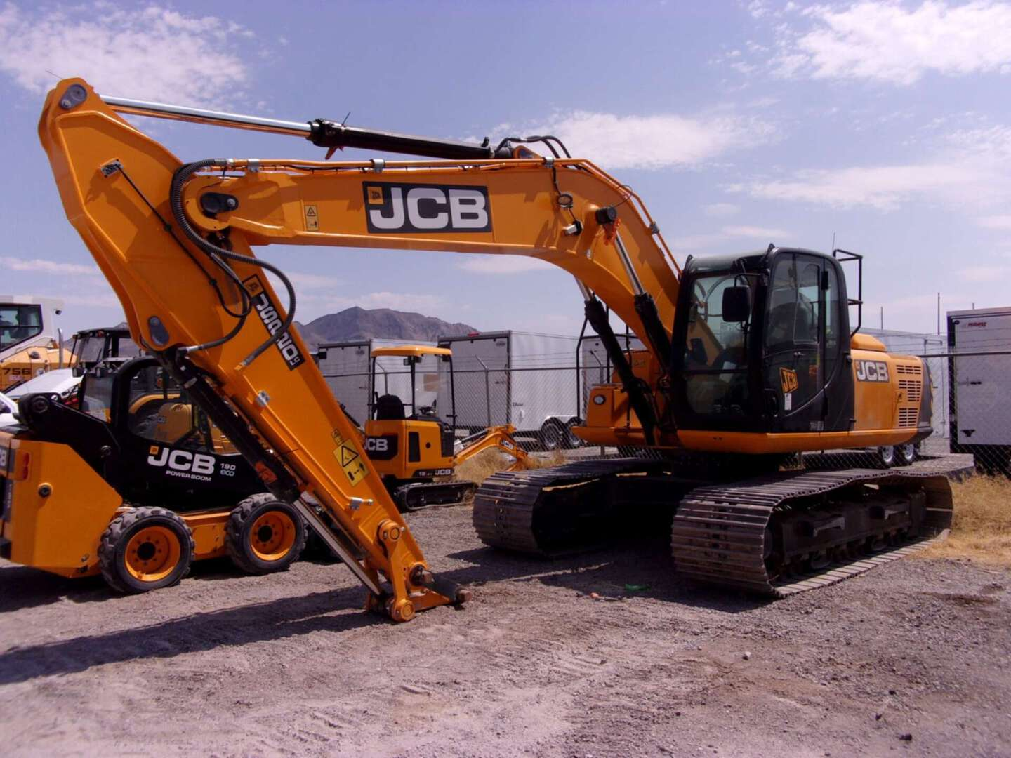 New, 2018, JCB, 220X EXCAVATOR, Excavators