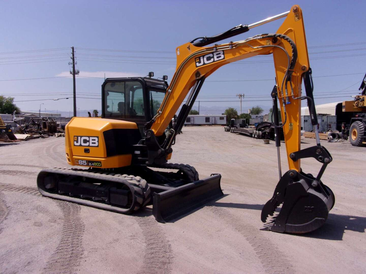 Used, 2018, JCB, 85Z-1, Excavators