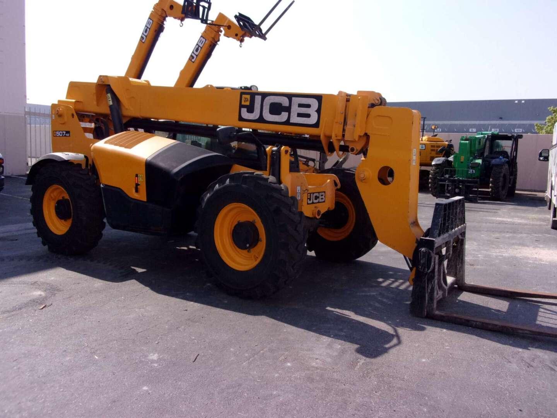 Used, 2017, JCB, 507-42, Telehandlers
