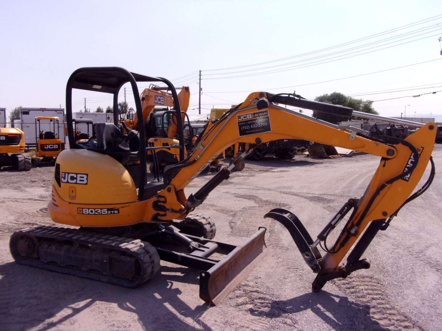 Used, 2018, JCB, 8035, Excavators