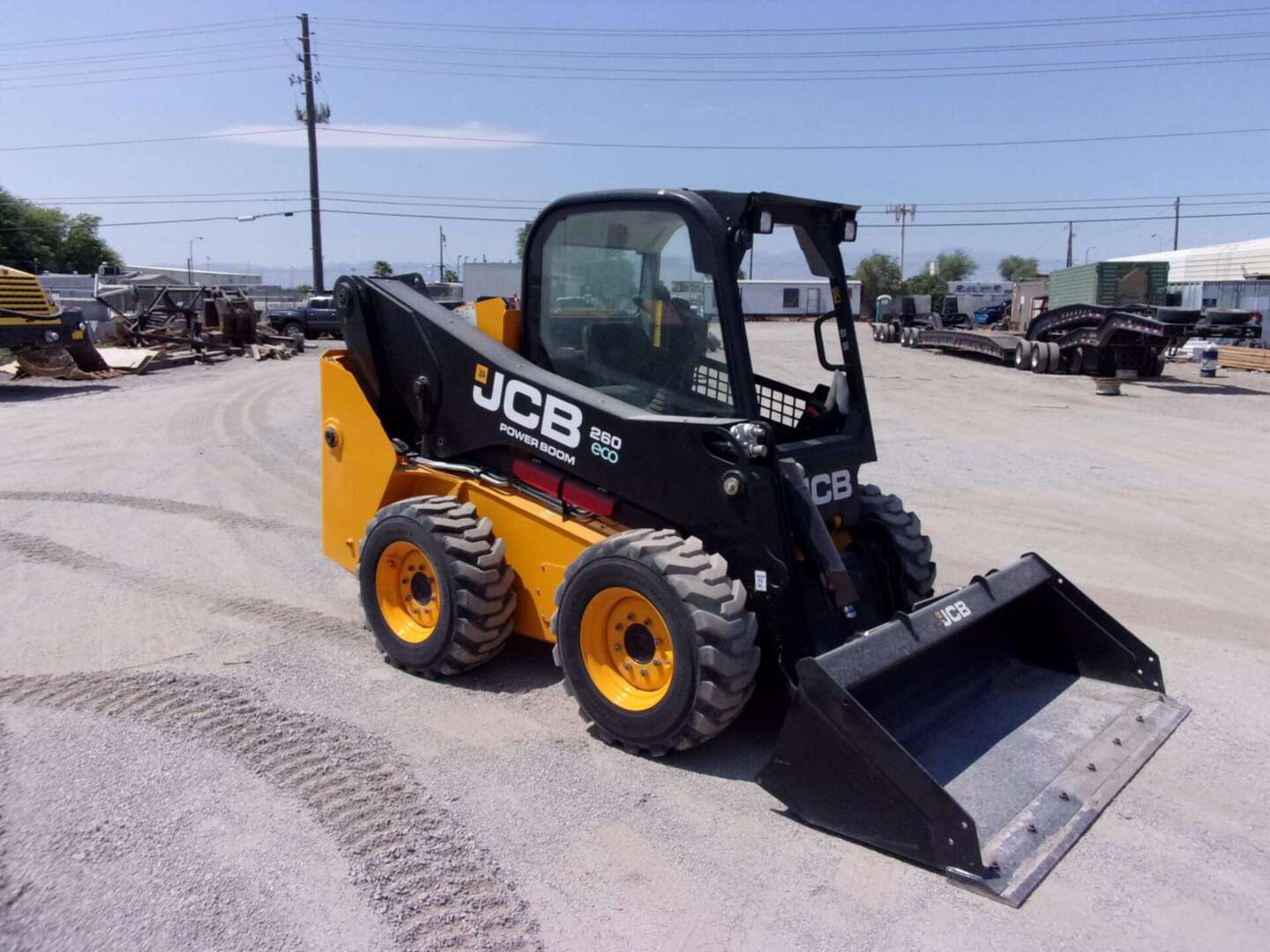 Used, 2016, JCB, 260, Skid Steers