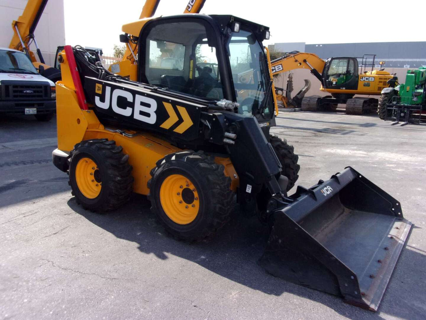 Used, 2017, JCB, 3TS-8W, Skid Steers