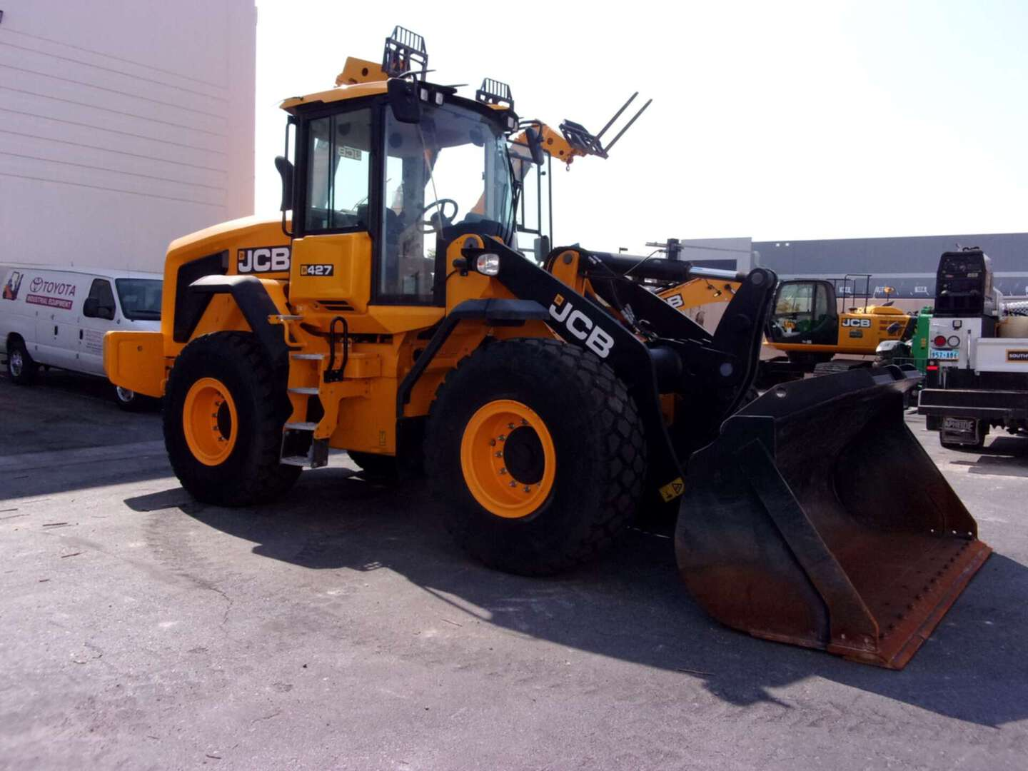 New, 2018, JCB, 427 ZX, Loaders