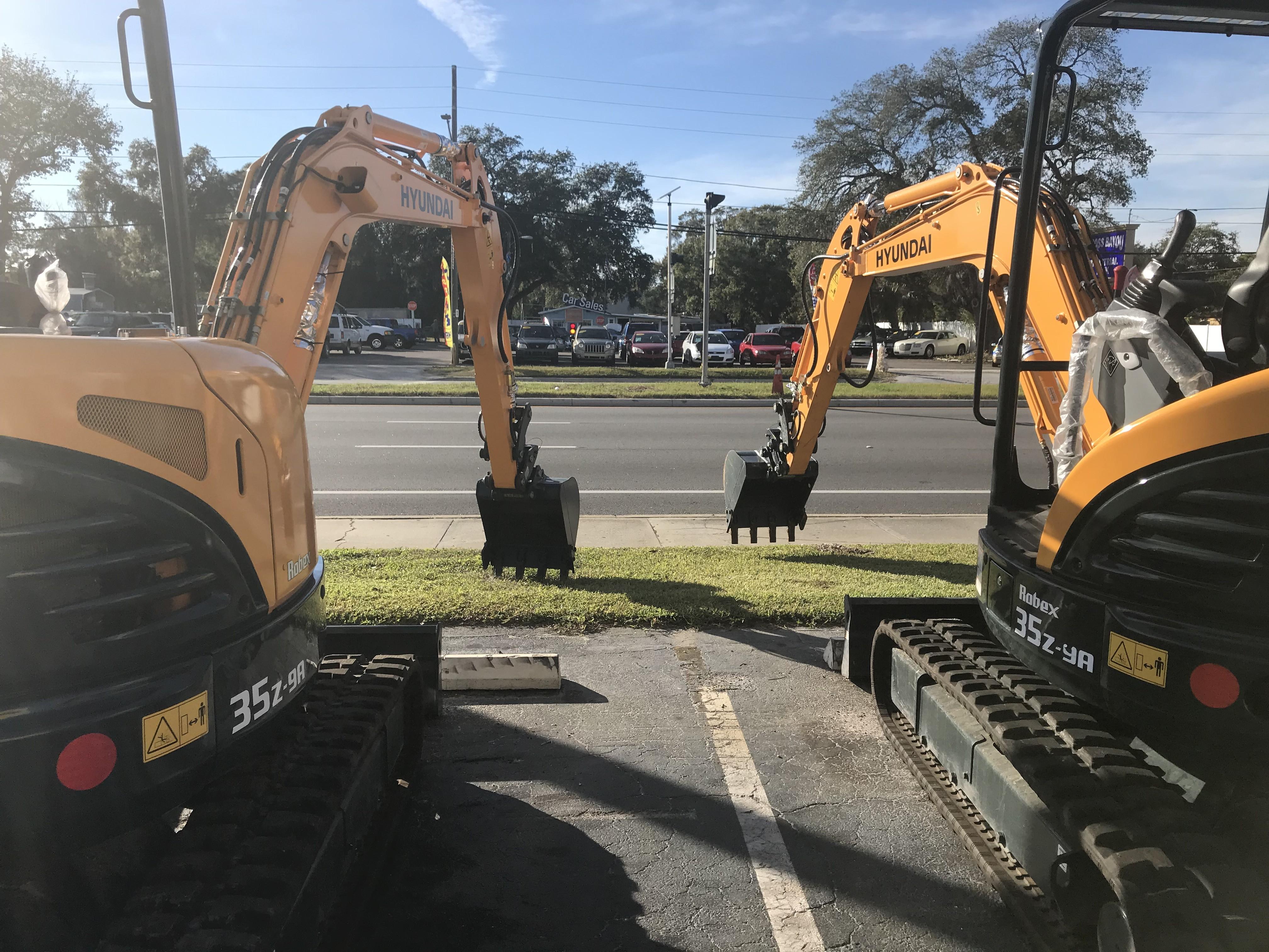 Used, 2017, Hyundai, R35Z-9A, Excavators