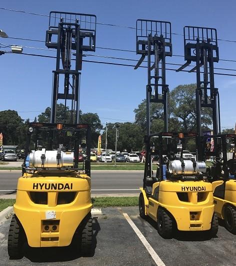 Used, 2017, Hyundai, 15LC-7M, Forklifts / Lift Trucks