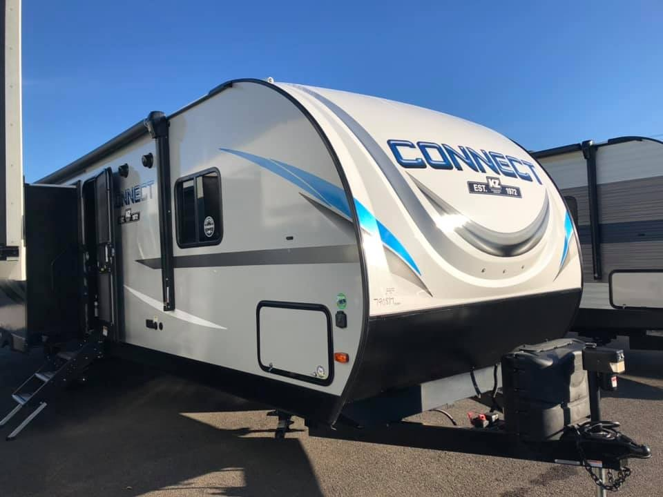 New, 2020, KZ RV, CONNECT C332BHK, Travel Trailers