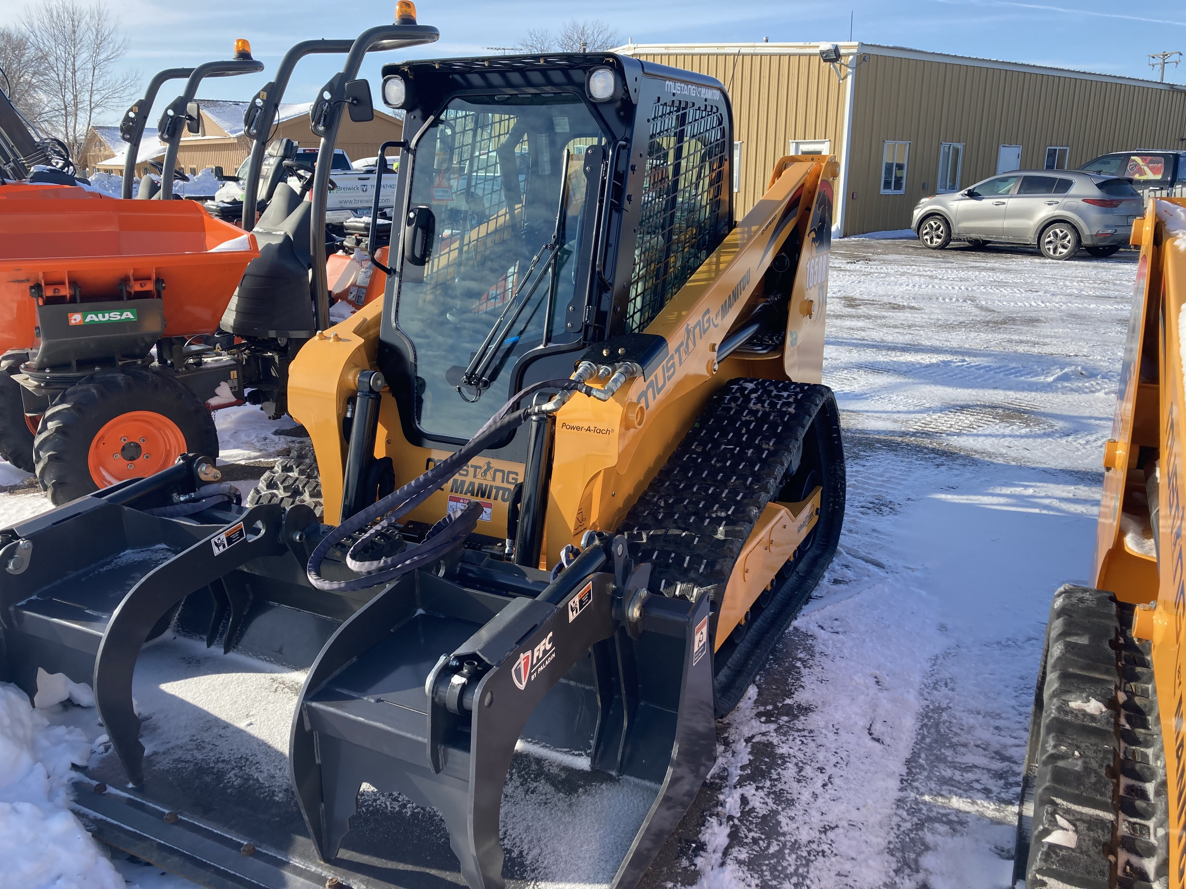 New, 2020, Mustang, 1650RT, Loaders