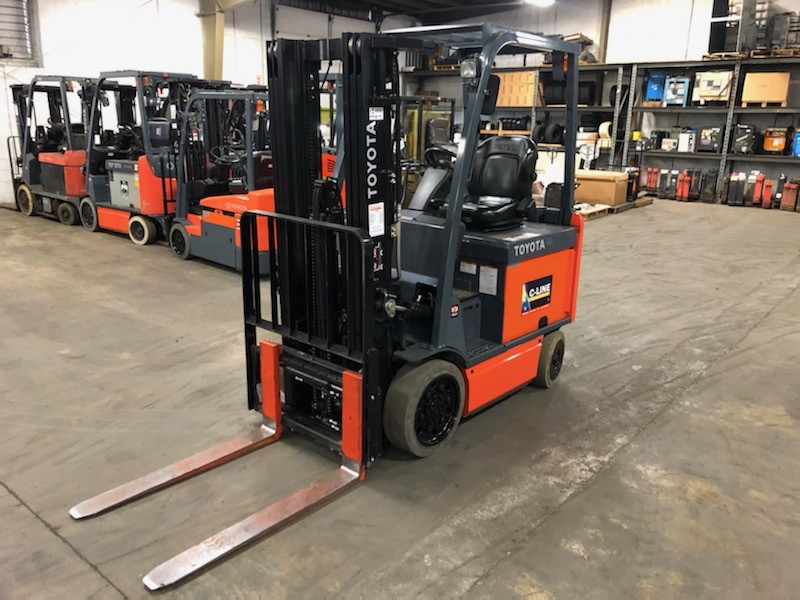 2015, Toyota Industrial Equipment, 8FBCU25, Forklifts / Lift Trucks, Used Toyota forklift, Electric forklift, Toyota electric forklift, Used forklift