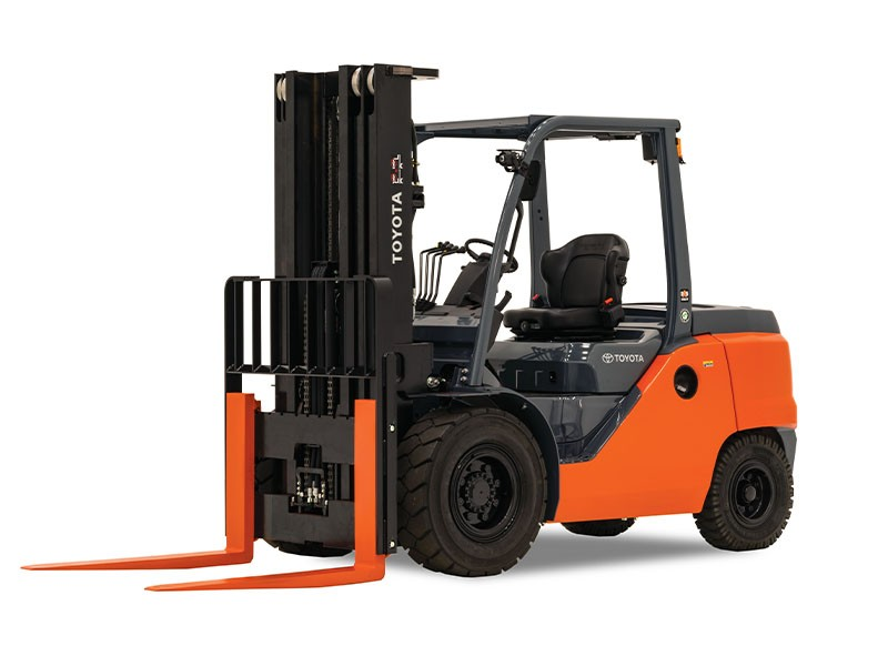 Toyota forklift, 8FG35U, Forklifts / Lift Trucks, used forklift, 8000 lb forklift, used forklift for sale in Maryland
