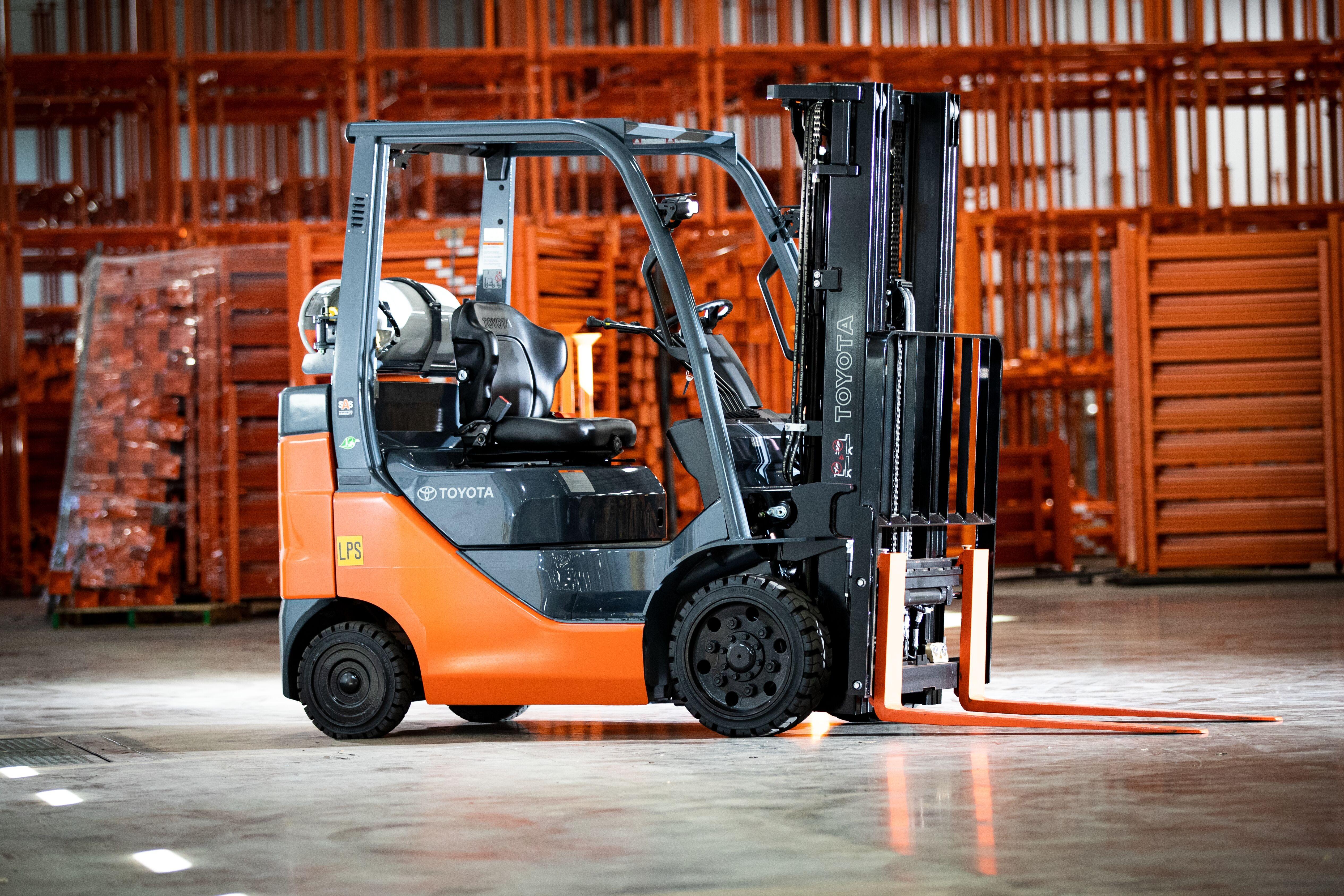 Used, 2014, Toyota Industrial Equipment, 8FGCU15, Forklifts / Lift Trucks